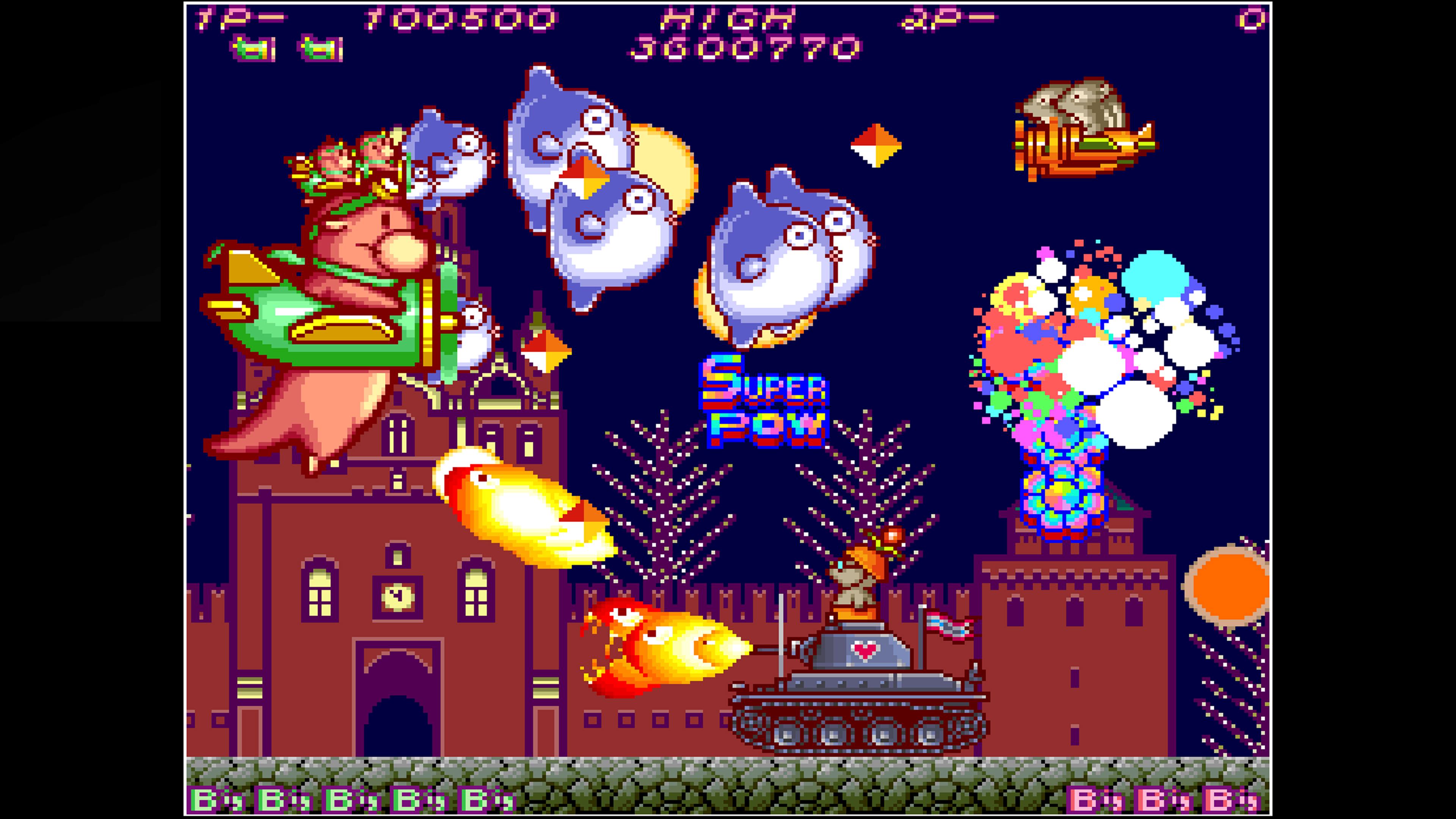 Скриншот №9 к Arcade Archives HACHA MECHA FIGHTER