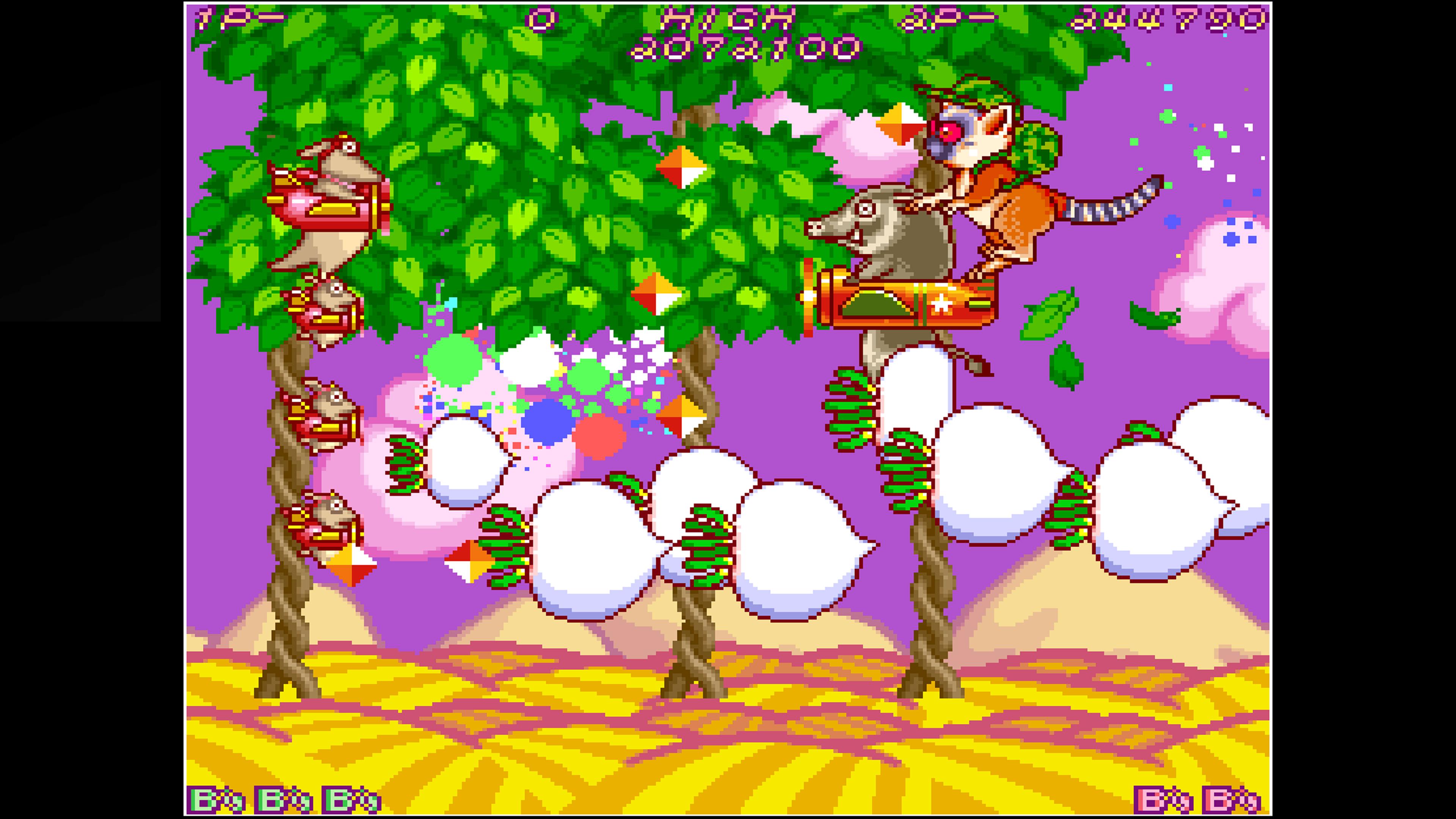 Скриншот №7 к Arcade Archives HACHA MECHA FIGHTER