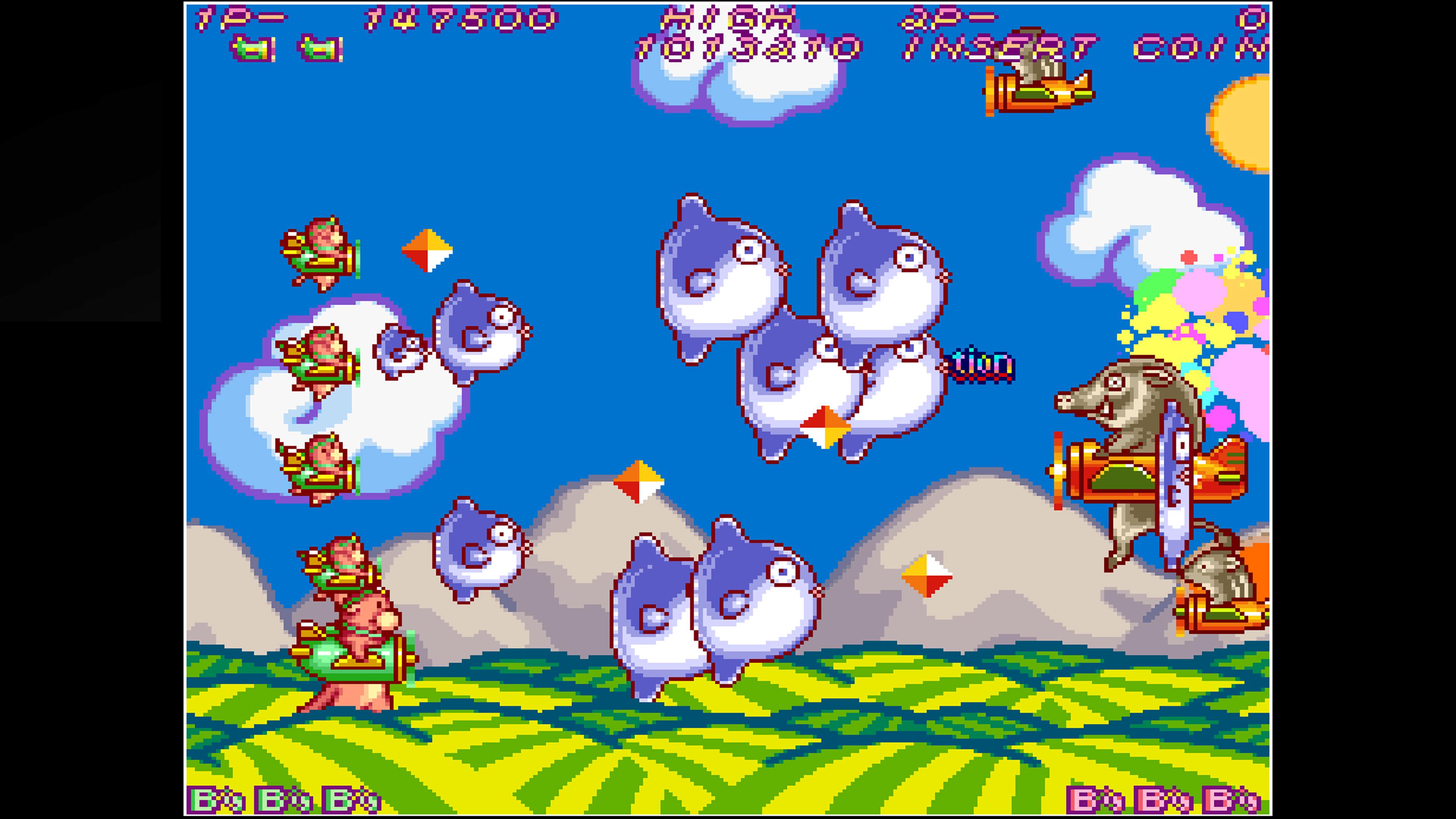 Скриншот №4 к Arcade Archives HACHA MECHA FIGHTER