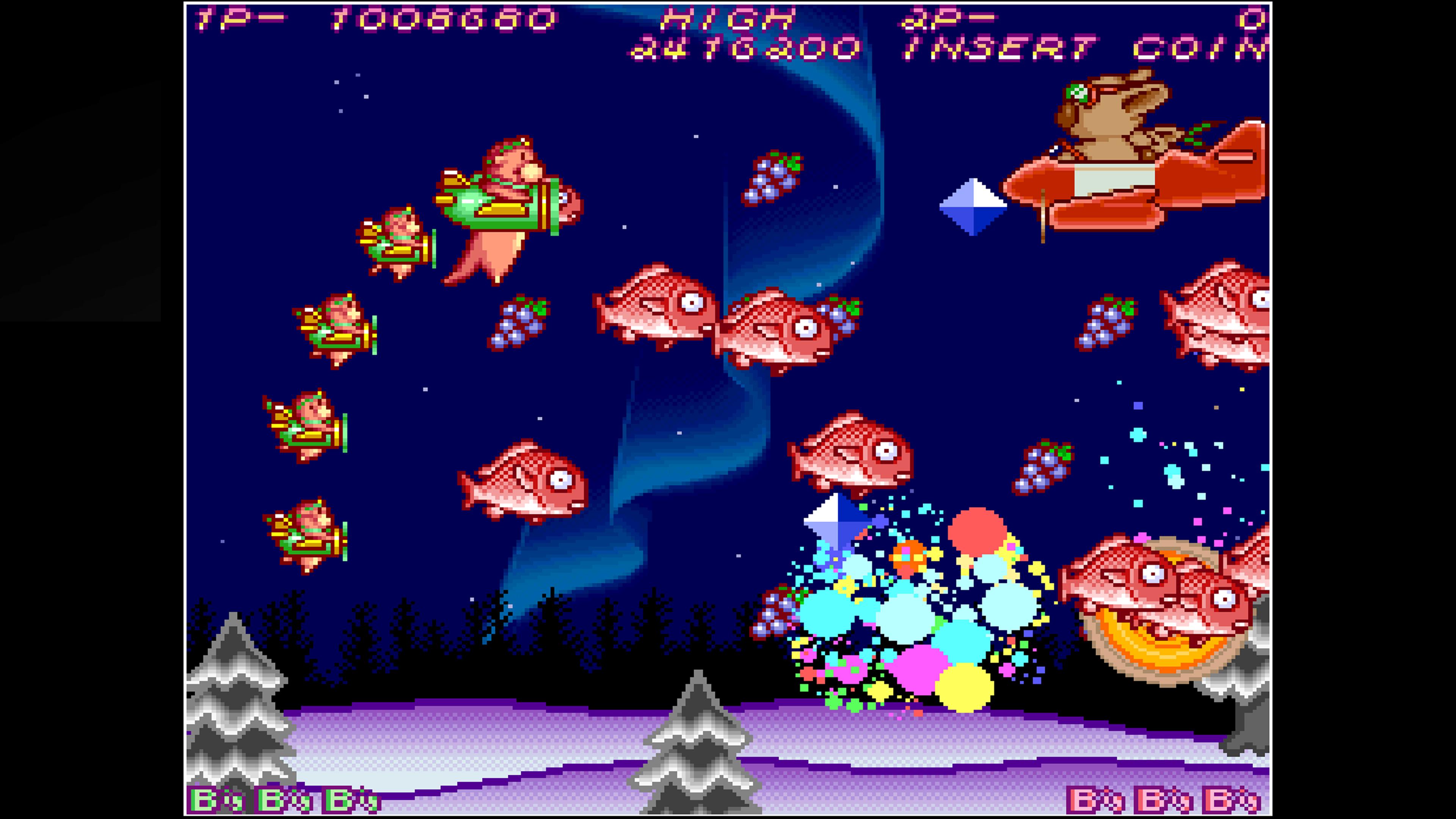 Скриншот №8 к Arcade Archives HACHA MECHA FIGHTER