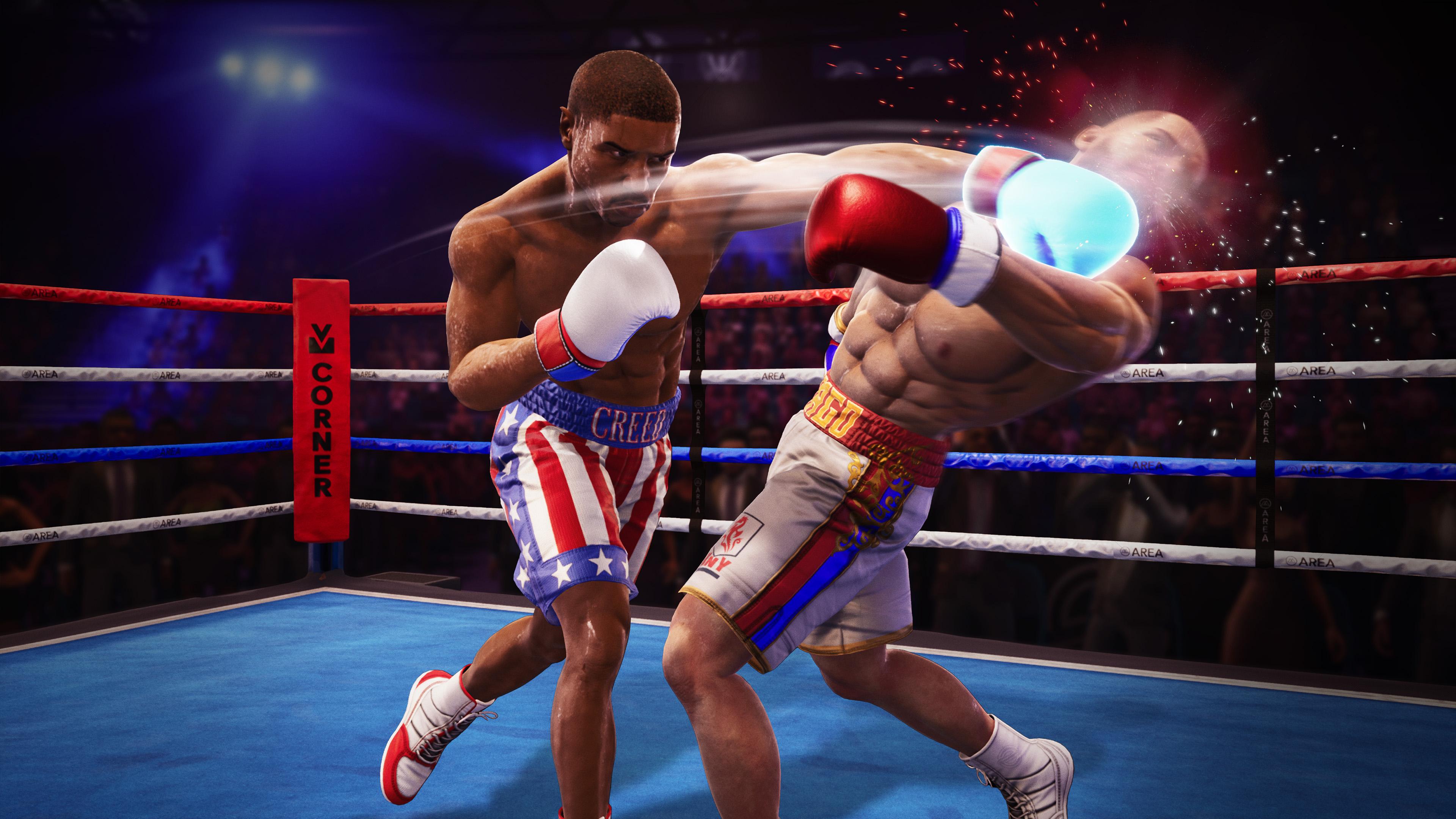 Скриншот №2 к Big Rumble Boxing Creed Champions