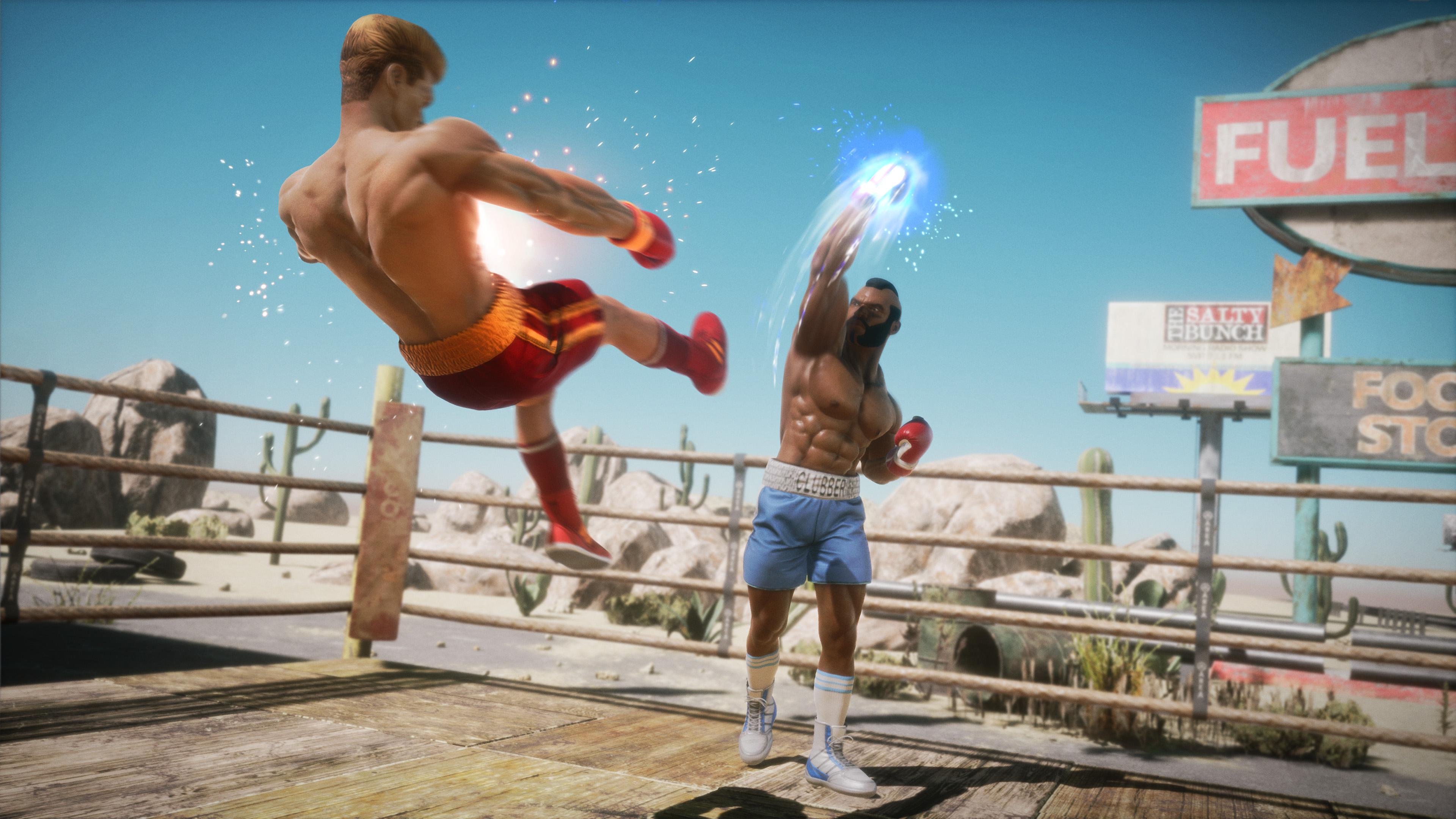 Скриншот №1 к Big Rumble Boxing Creed Champions