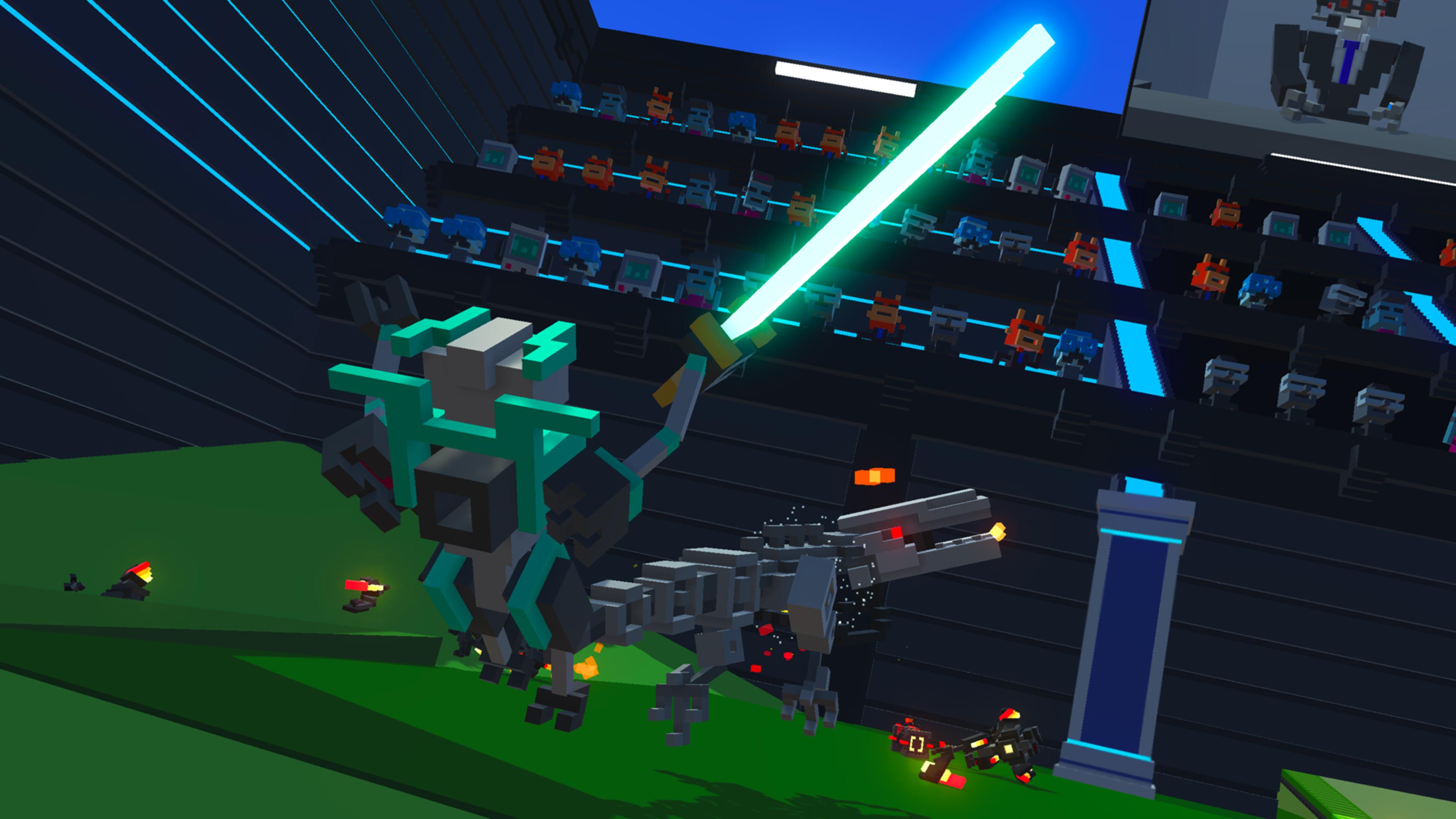 Скриншот №4 к Clone Drone in the Danger Zone