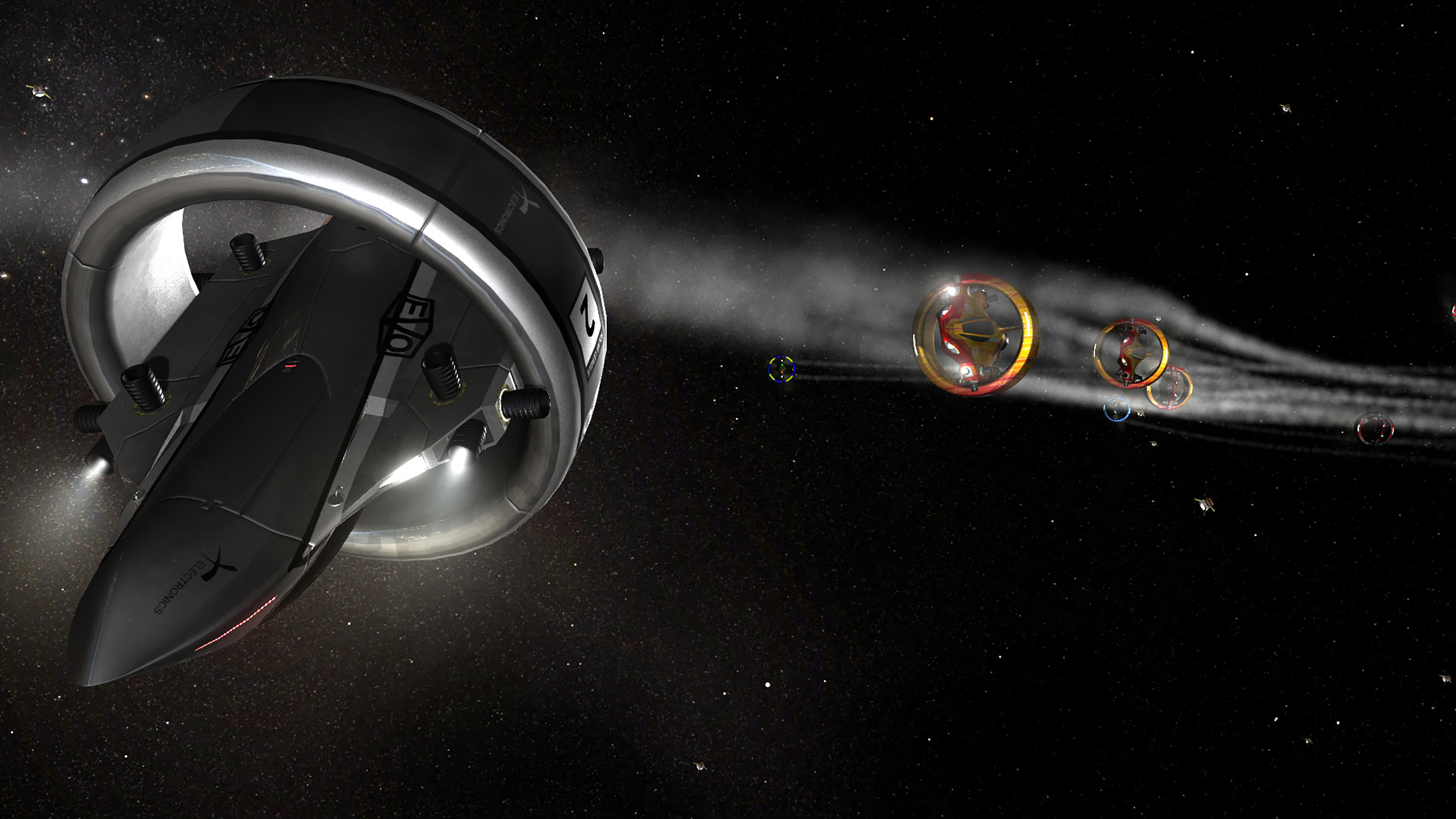 Скриншот №7 к Orbital Racer