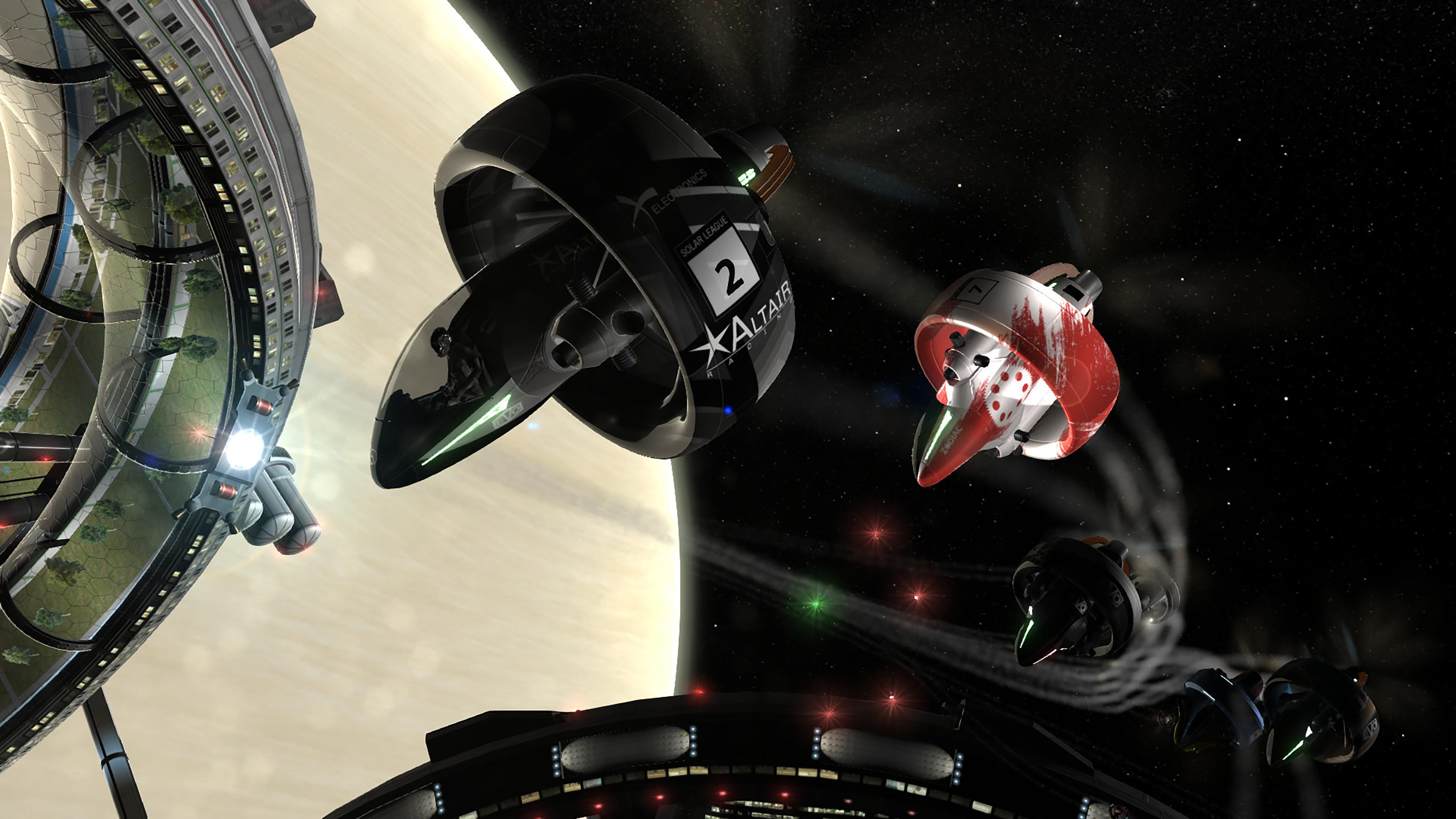 Скриншот №6 к Orbital Racer