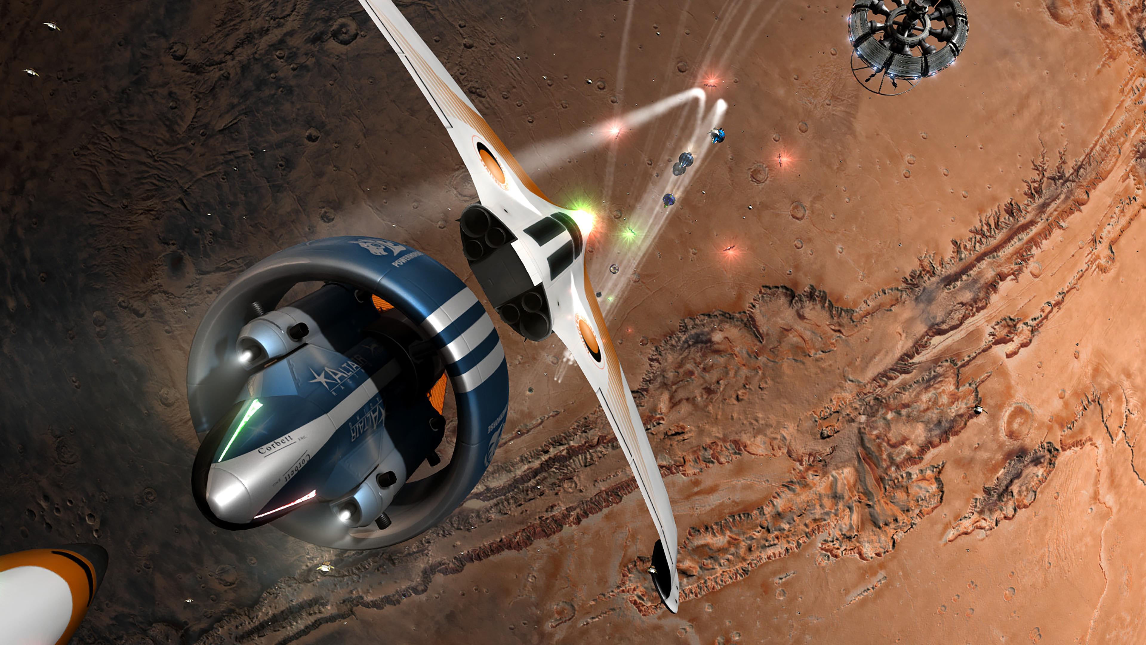 Скриншот №8 к Orbital Racer