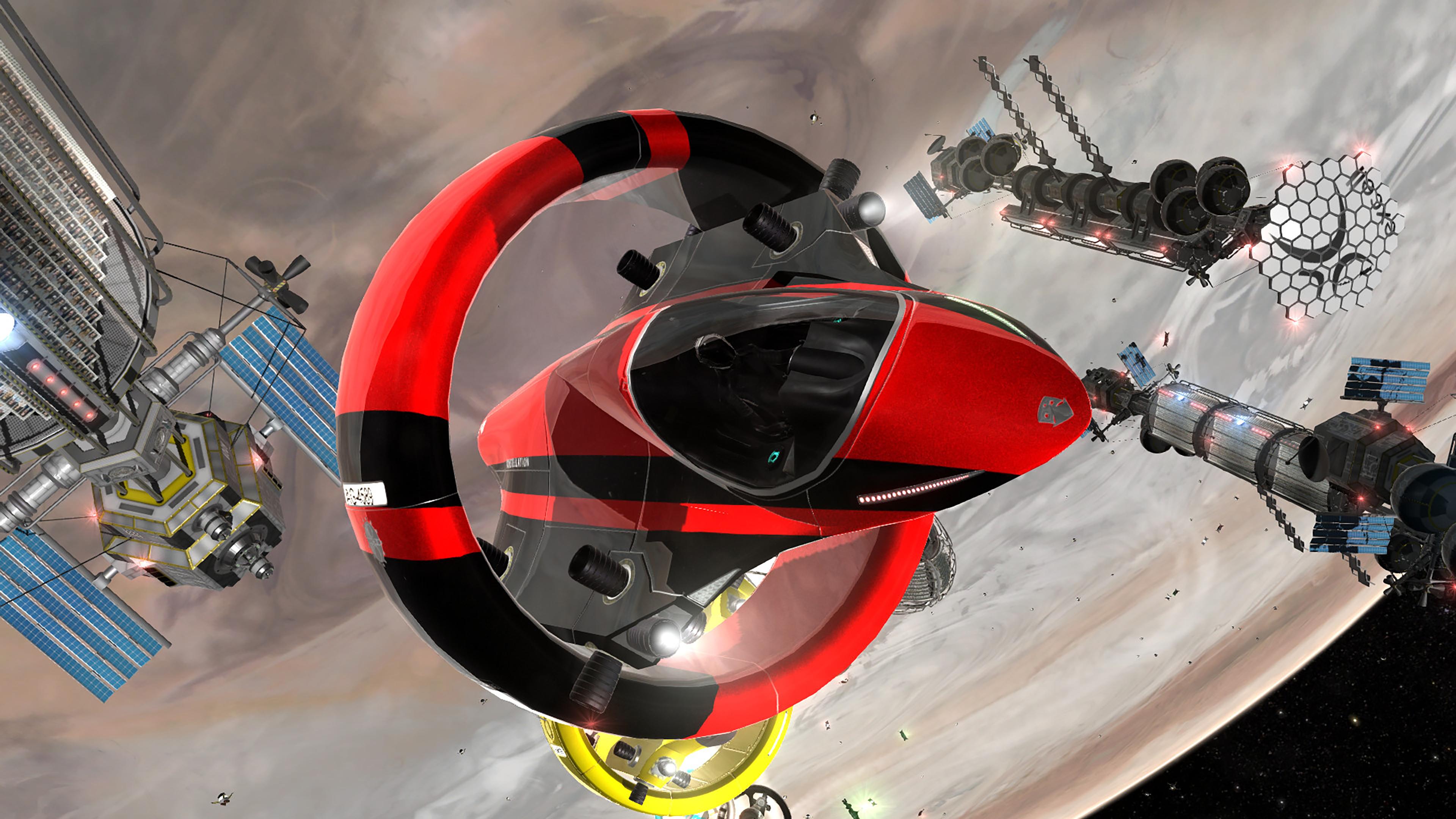 Скриншот №9 к Orbital Racer