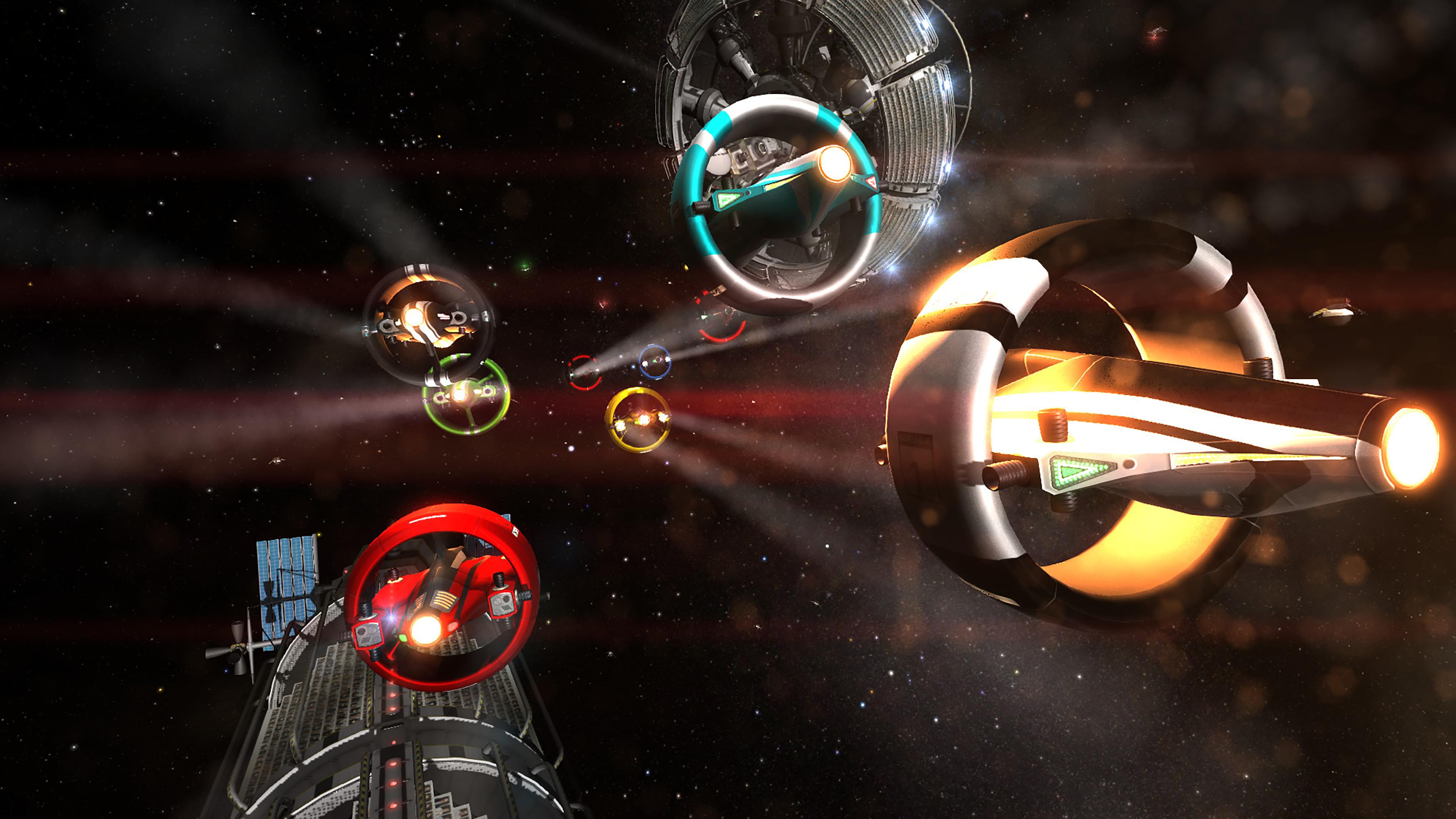 Скриншот №2 к Orbital Racer