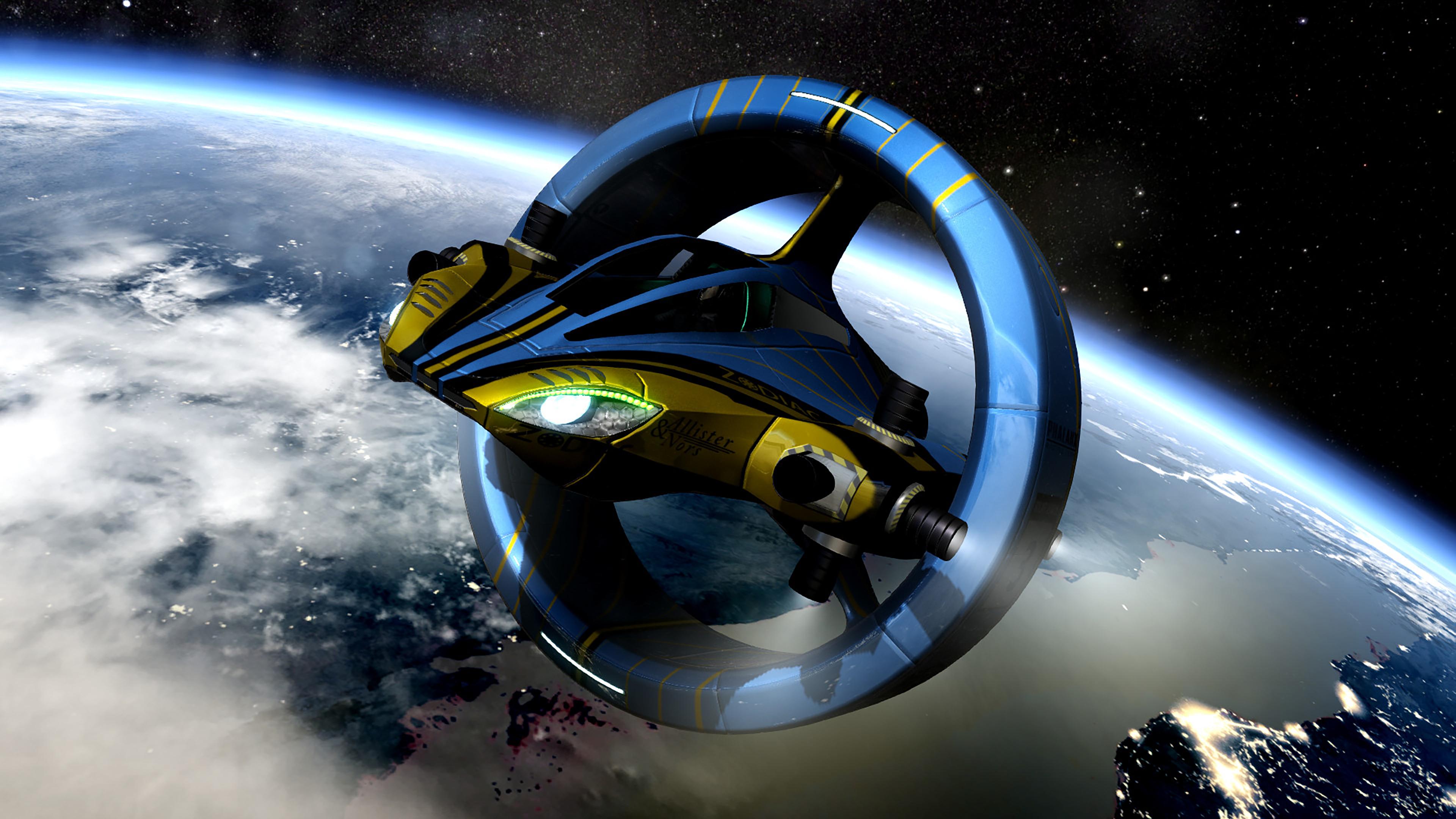 Скриншот №3 к Orbital Racer