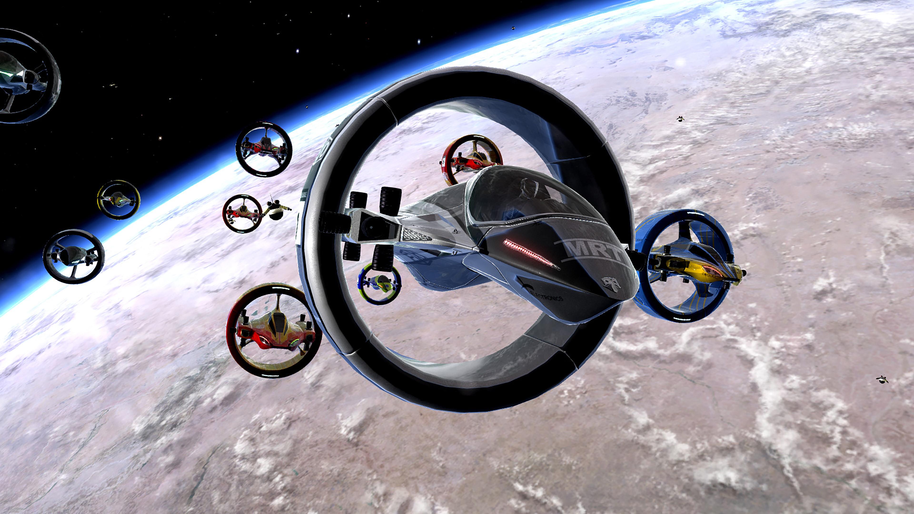 Скриншот №5 к Orbital Racer