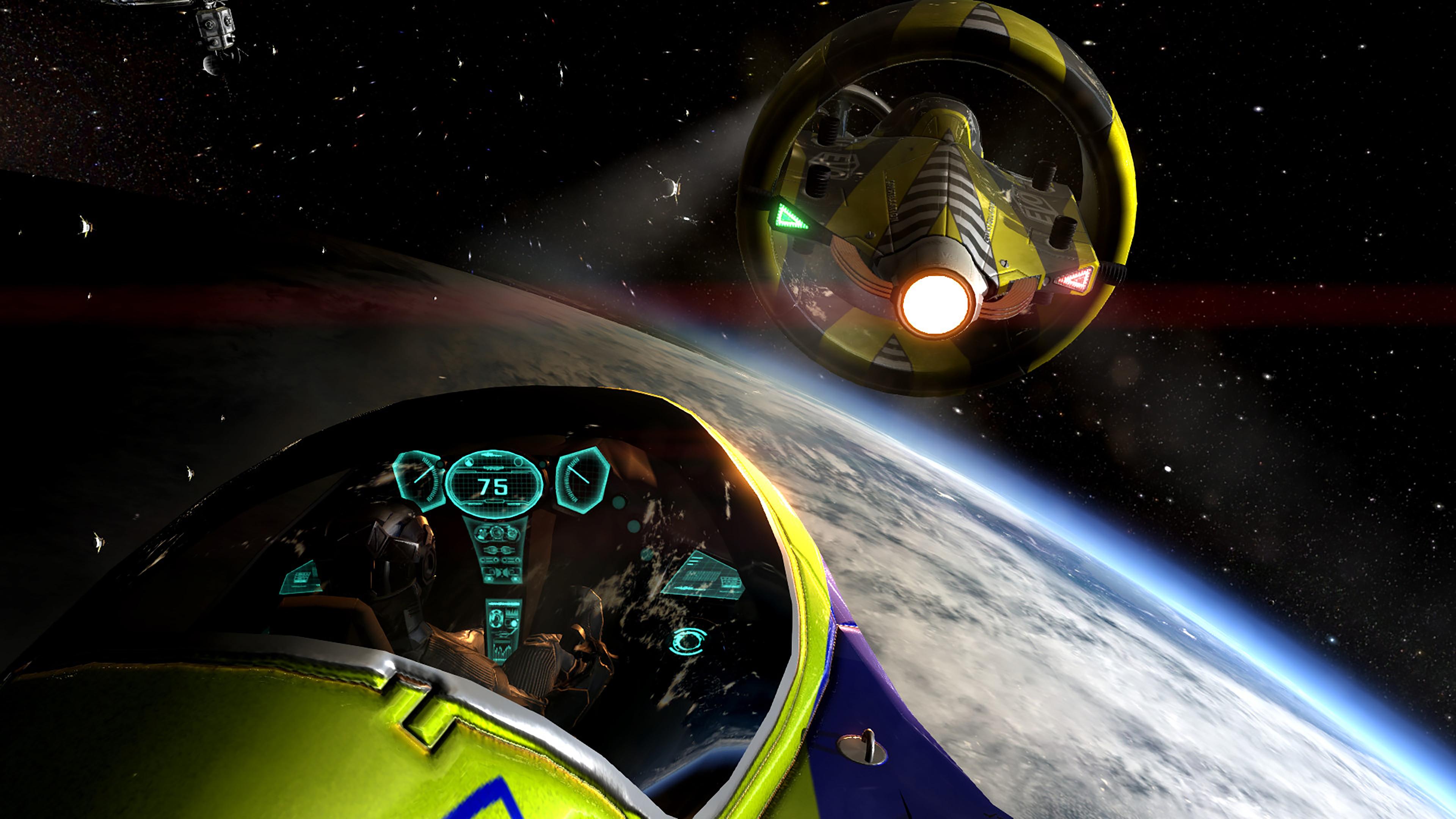 Скриншот №4 к Orbital Racer