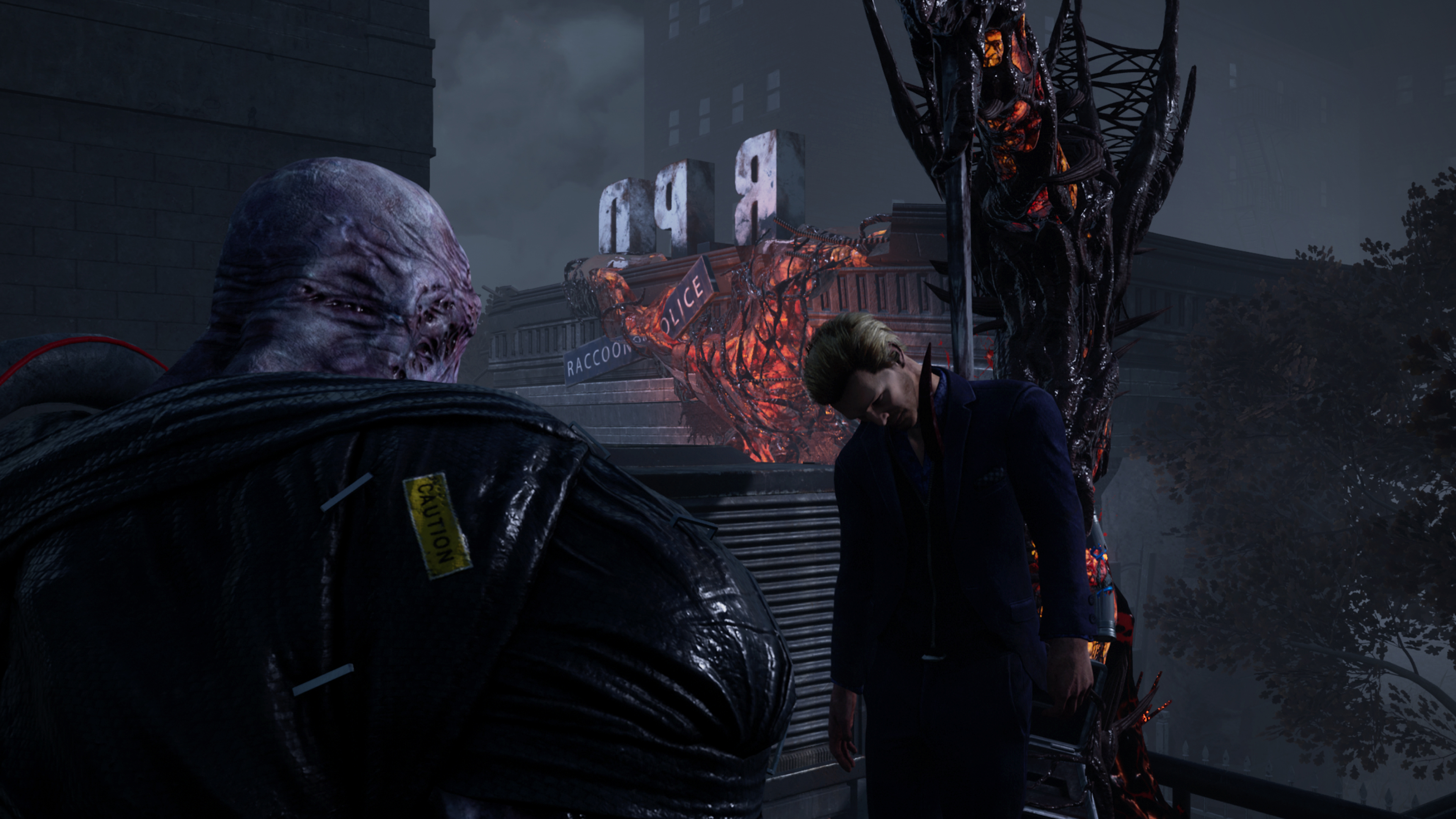 Скриншот №2 к Dead by Daylight Resident Evil