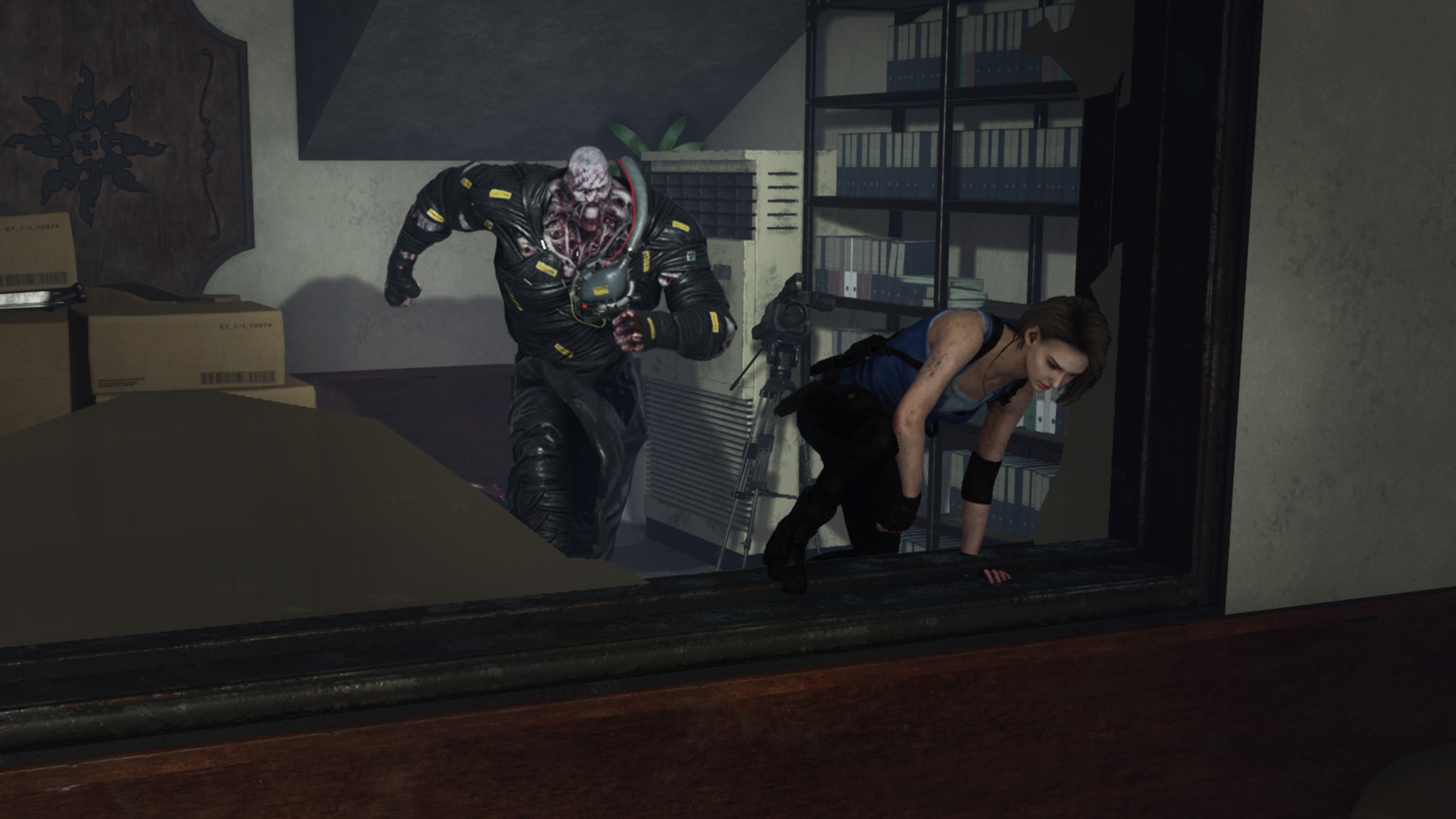 Скриншот №1 к Dead by Daylight Resident Evil