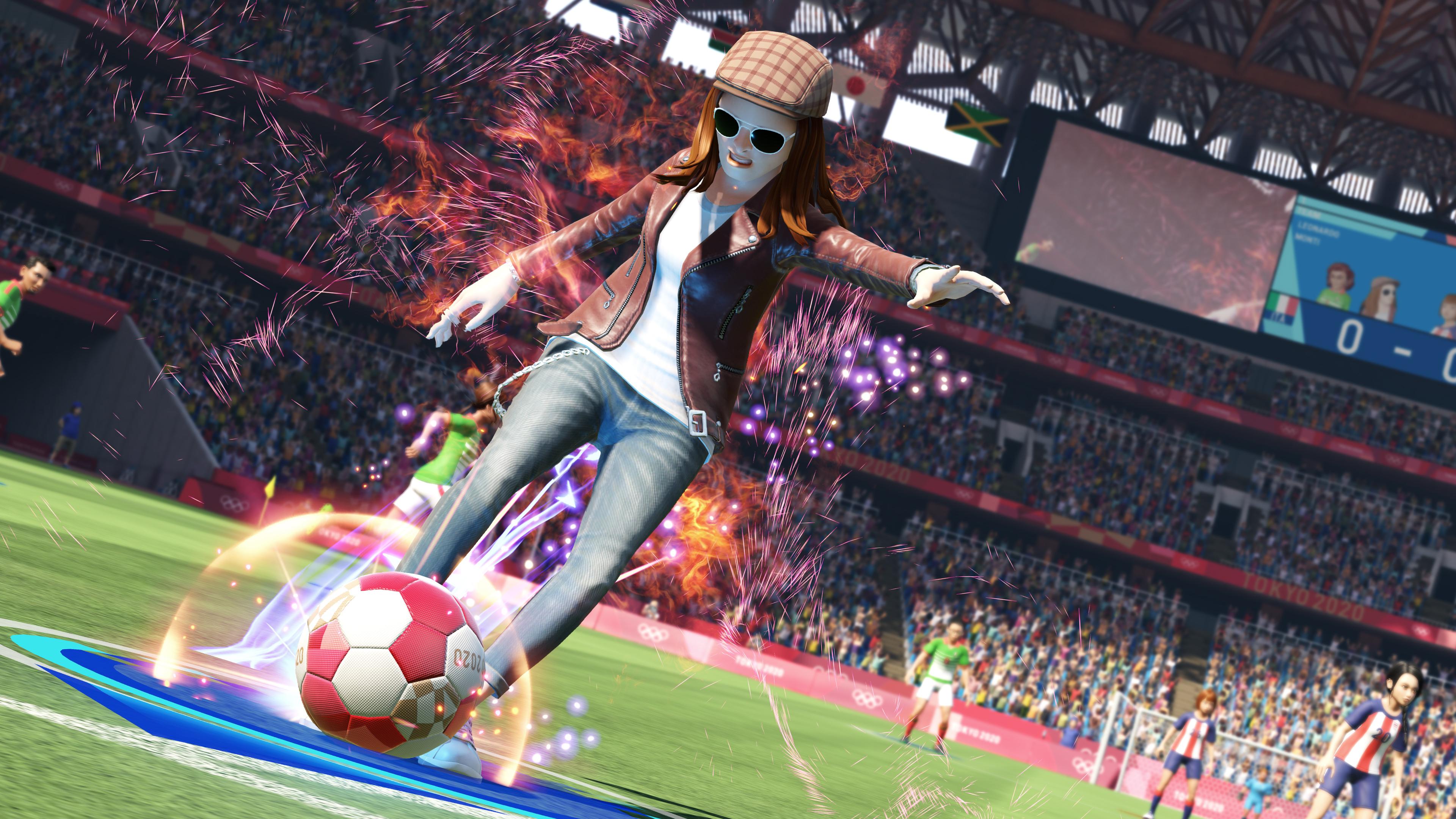 Скриншот №1 к Олимпийские игры Tokyo 2020 – Официальная игра