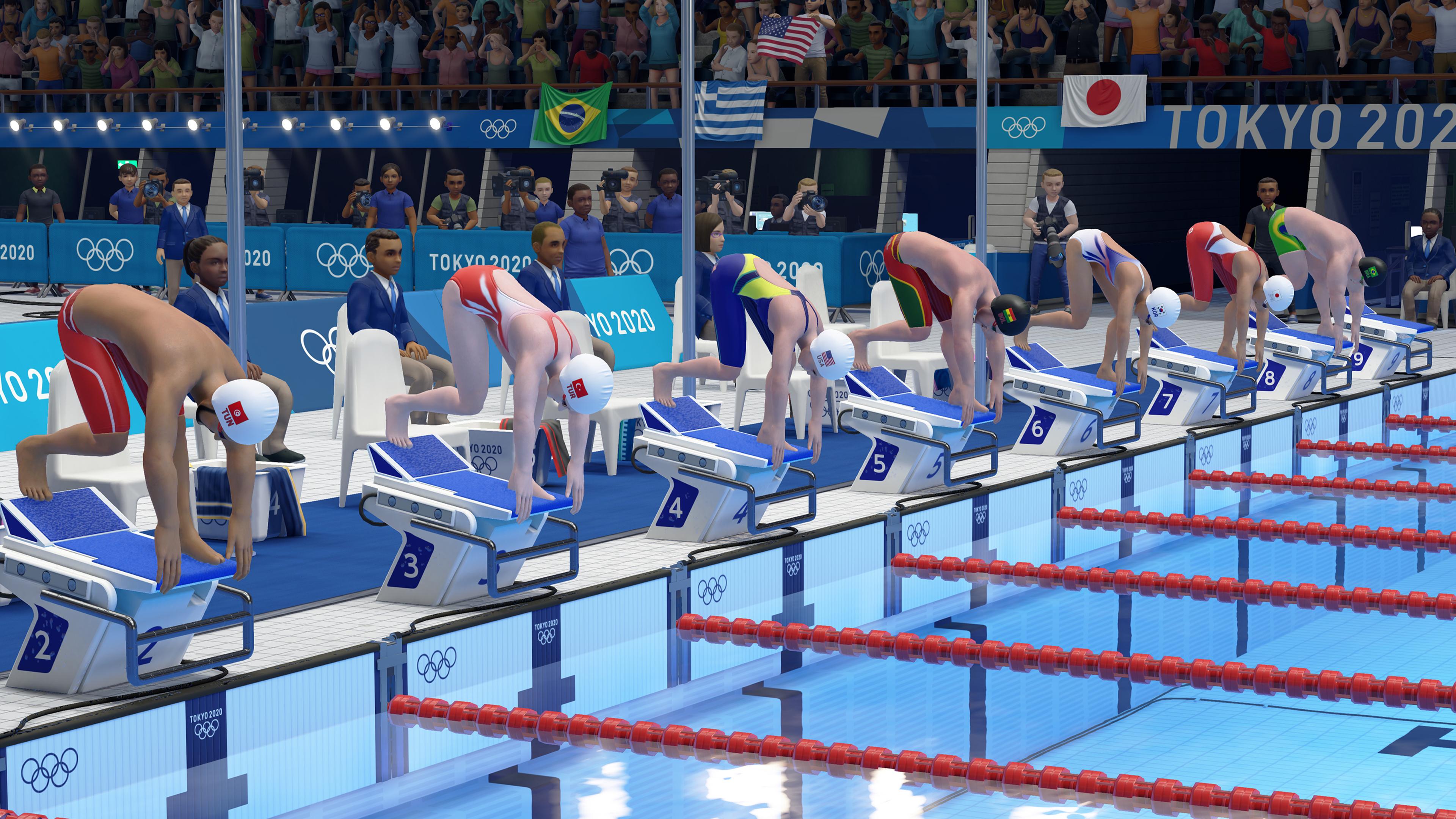 Скриншот №3 к Олимпийские игры Tokyo 2020 – Официальная игра