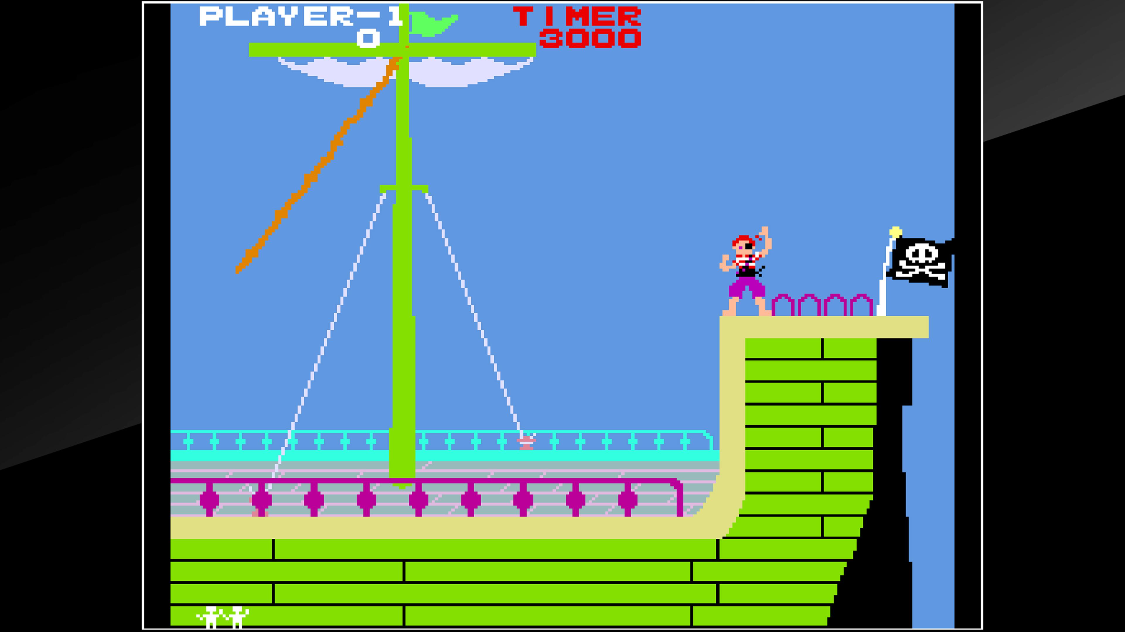 Скриншот №2 к Arcade Archives PIRATE PETE
