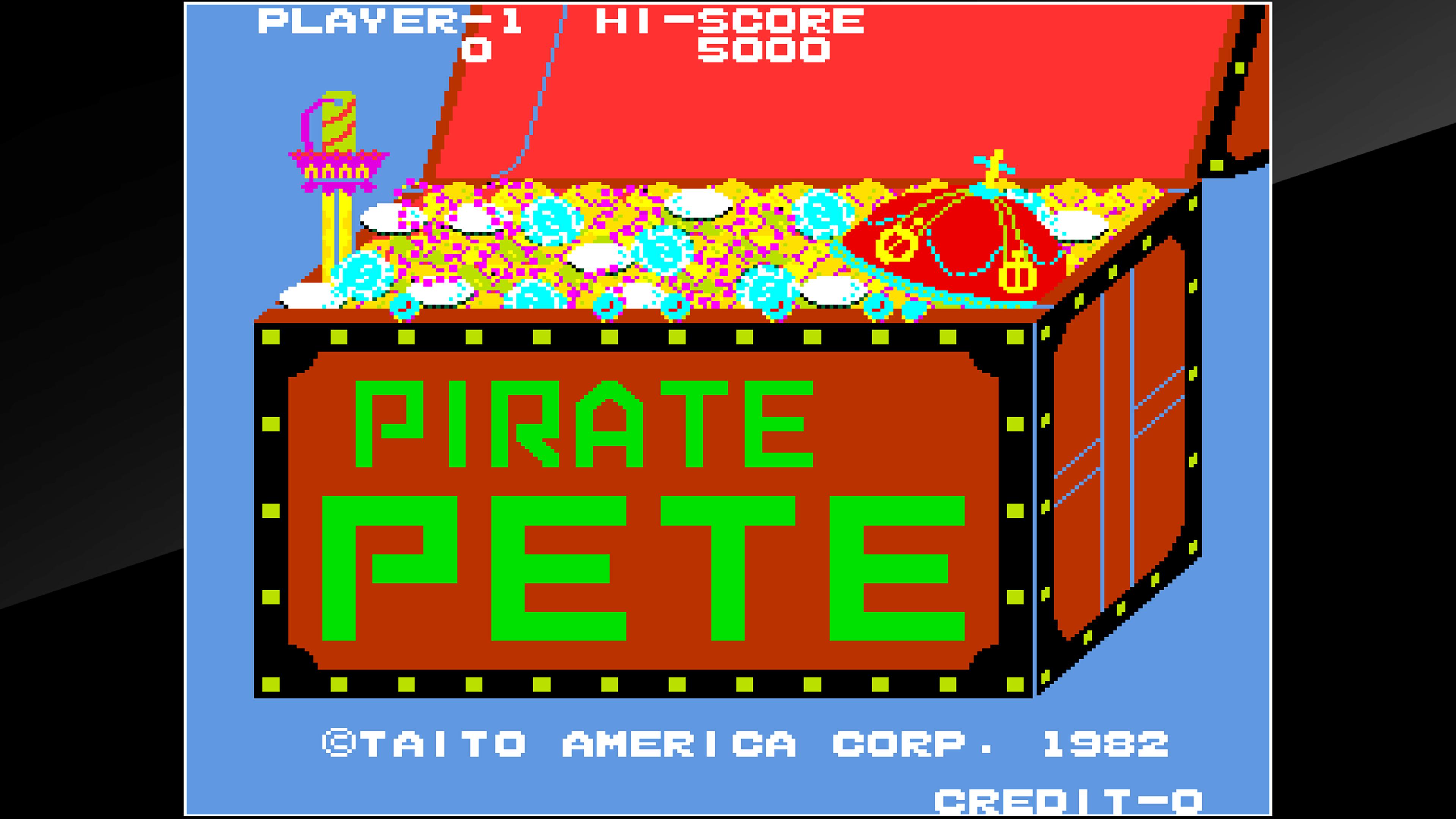 Скриншот №1 к Arcade Archives PIRATE PETE