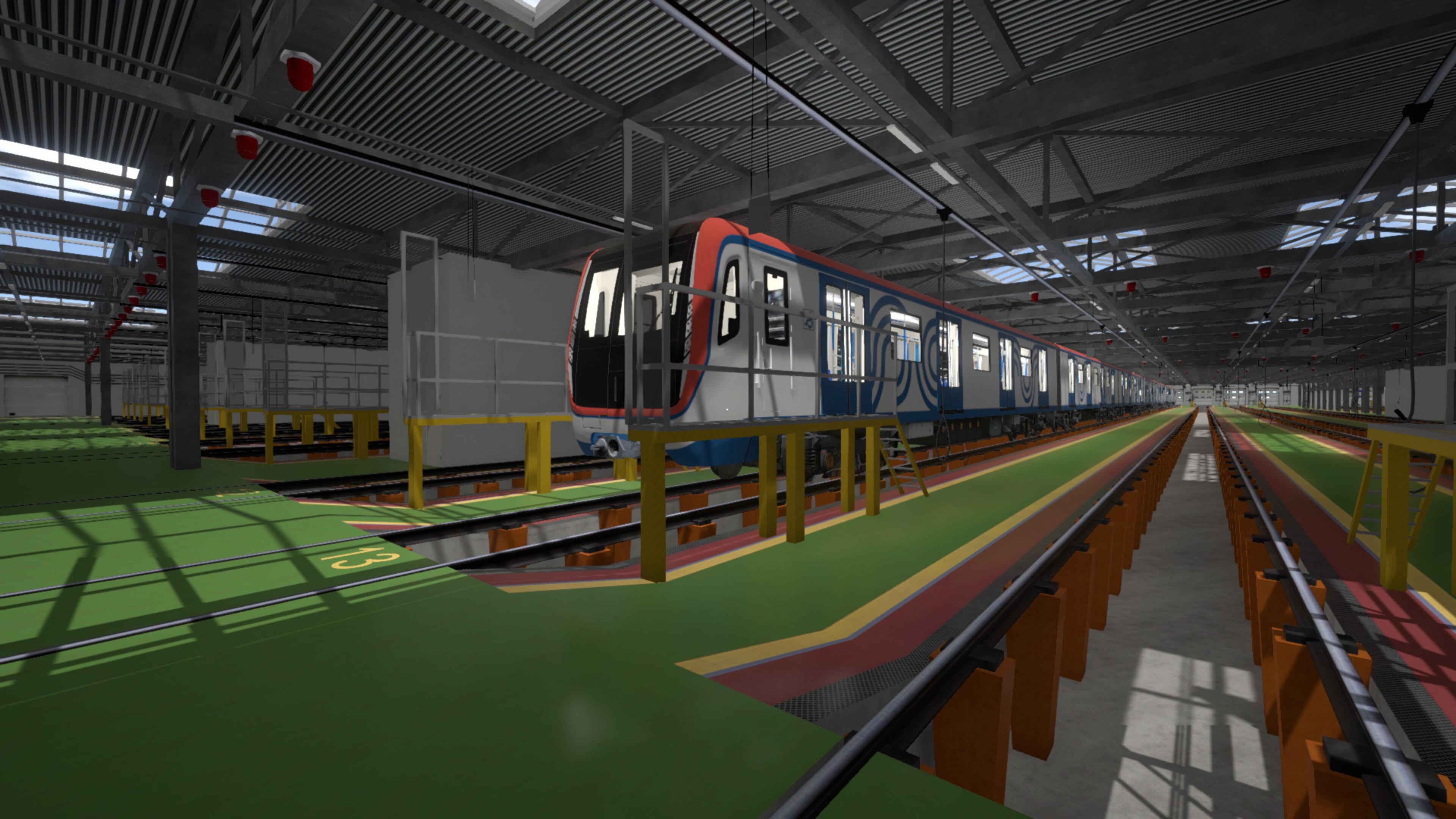 Скриншот №4 к Metro Simulator