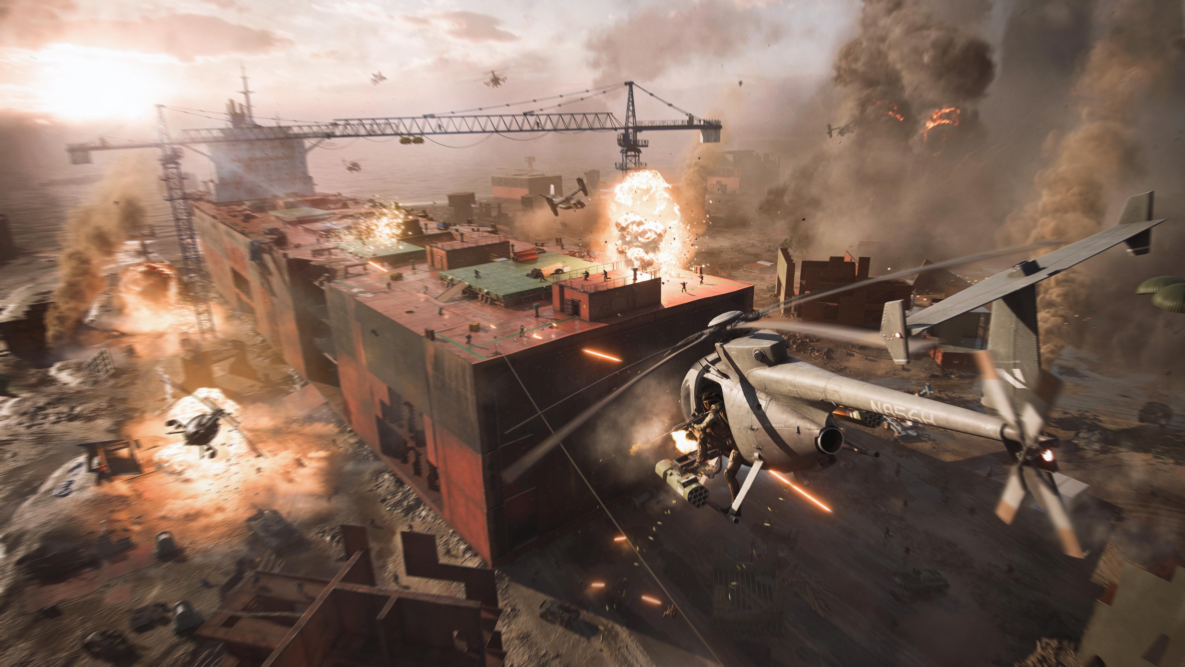 Скриншот №3 к Battlefield 2042 — Издание Ultimate для PS4 и PS5