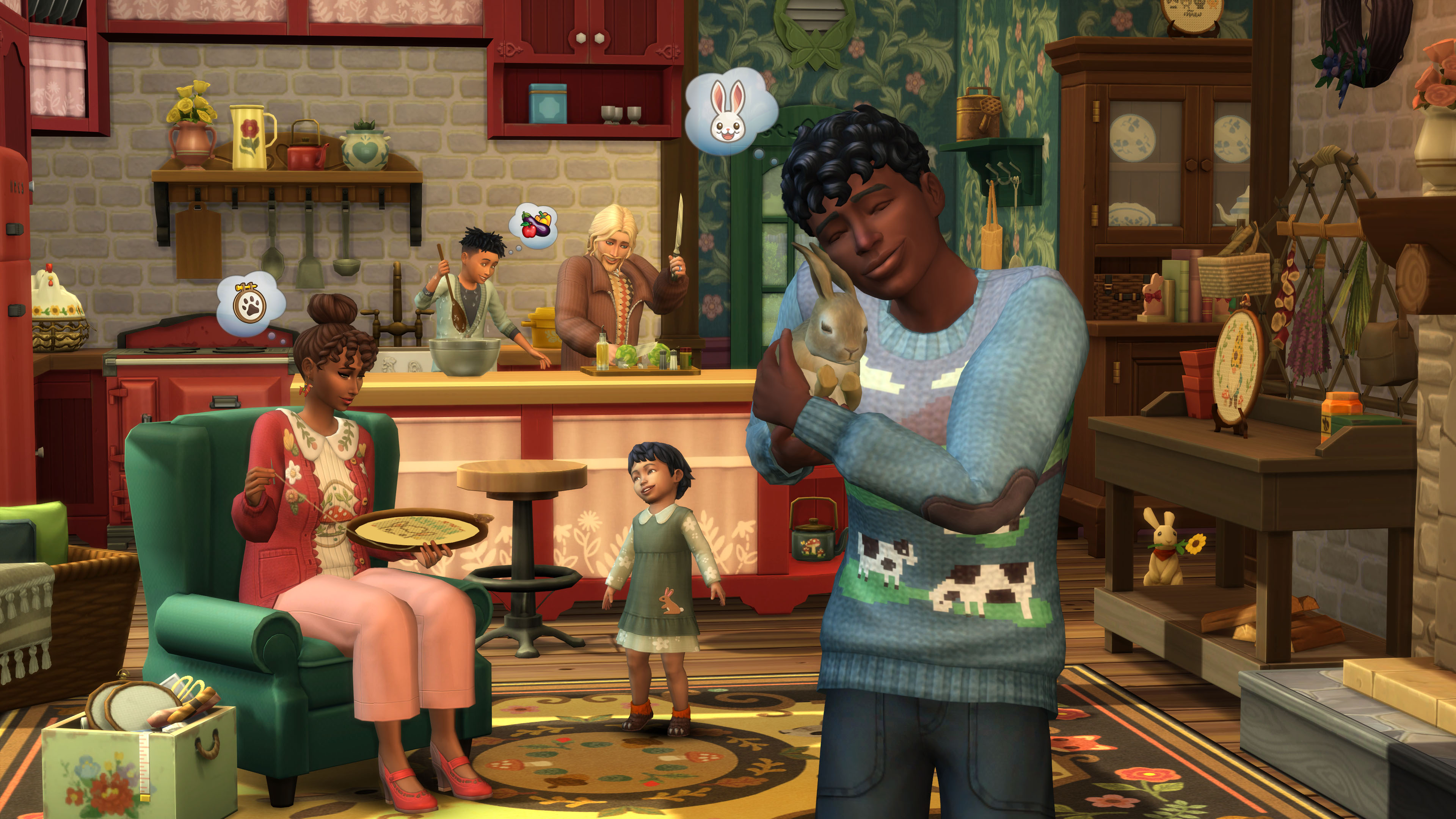 Скриншот №4 к The Sims 4 Загородная жизнь