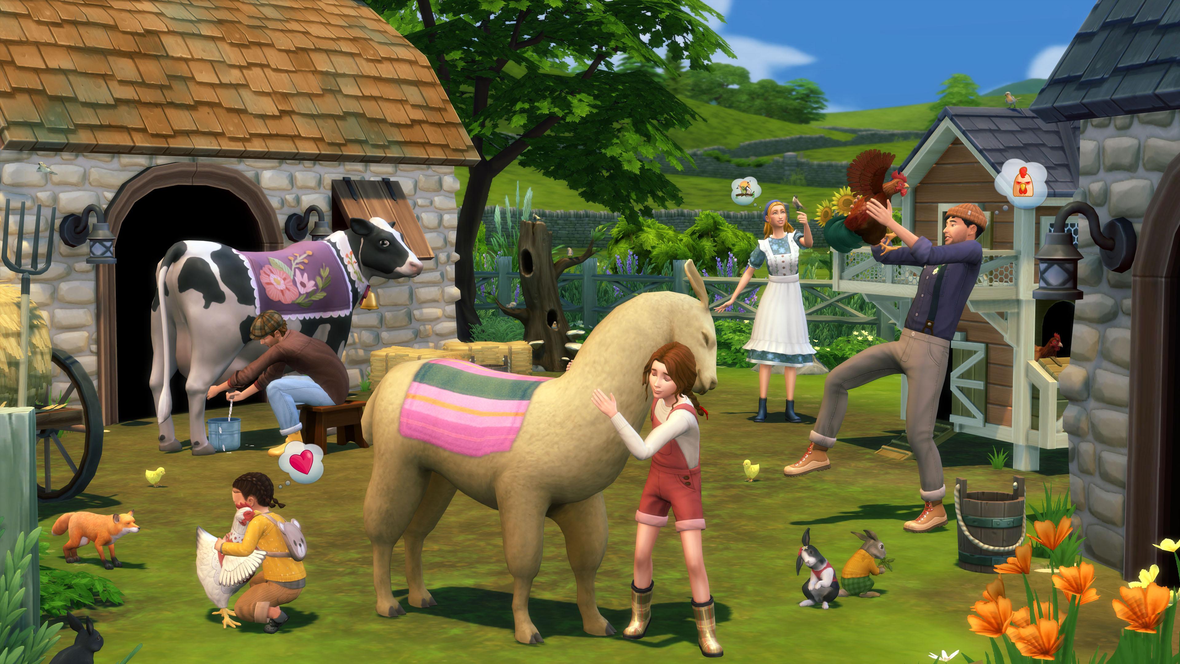 Скриншот №2 к The Sims 4 Загородная жизнь
