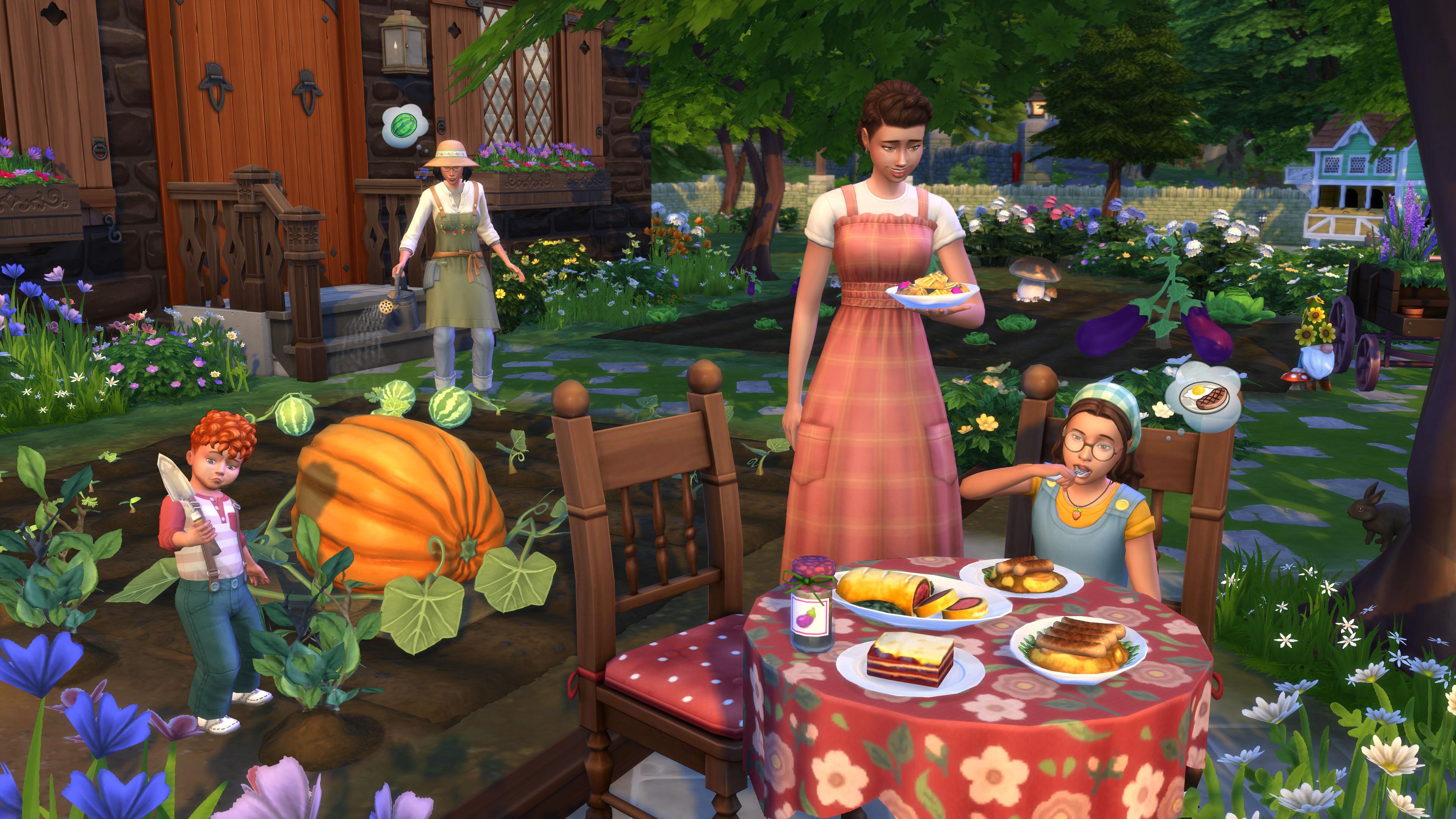 Скриншот №3 к The Sims 4 Загородная жизнь