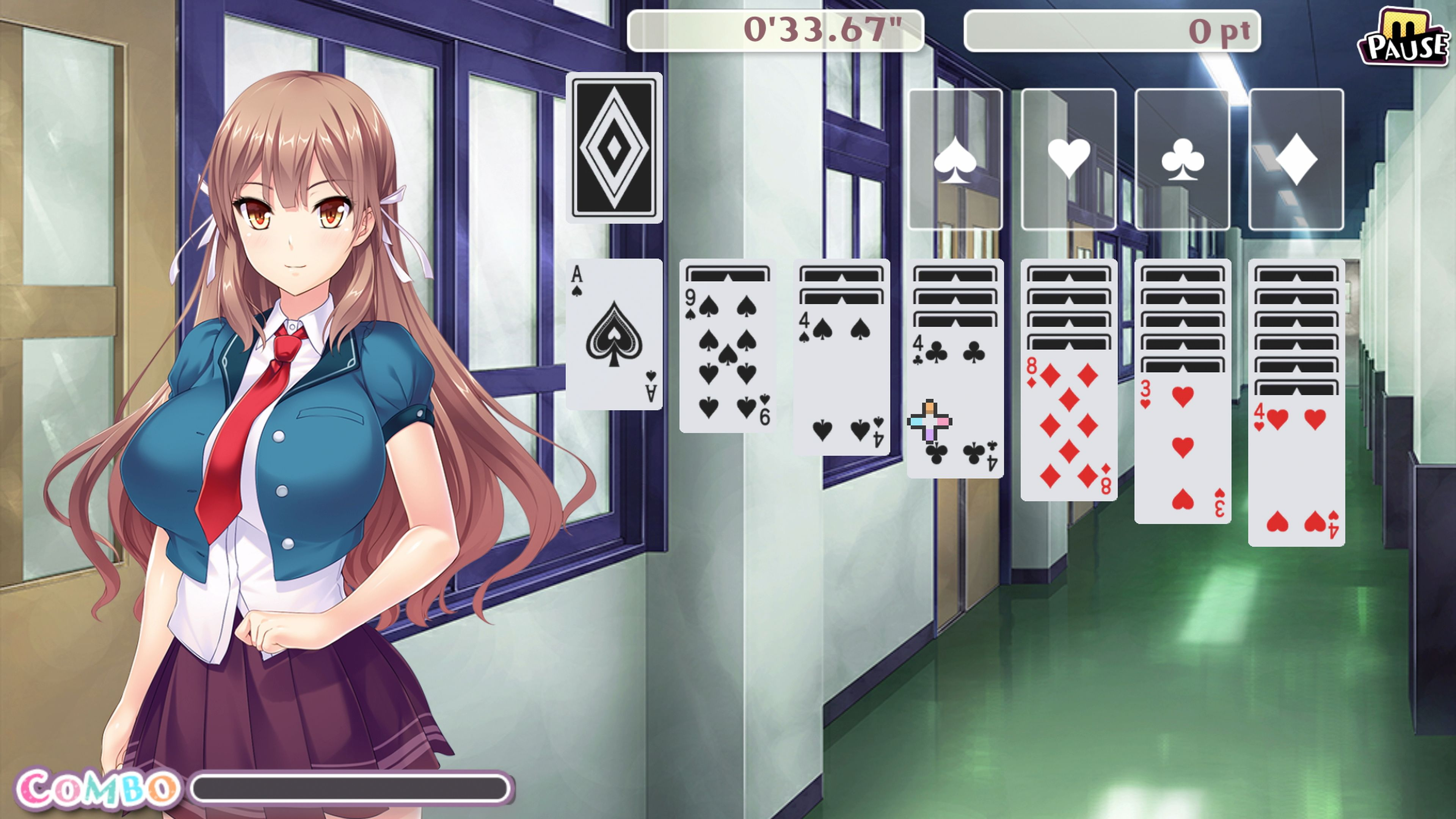 Скриншот №1 к Pretty Girls Klondike Solitaire PS4 and PS5