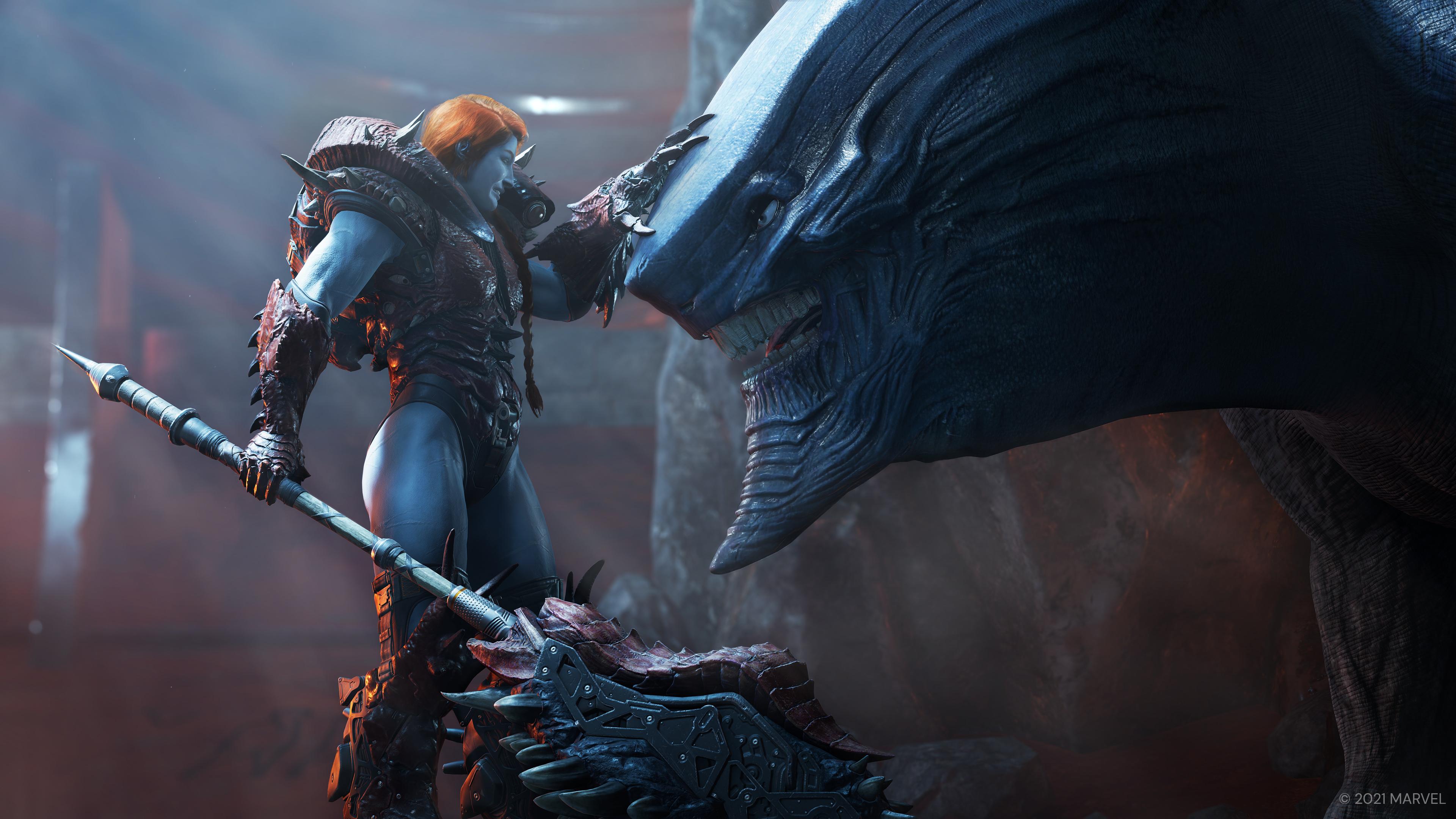 Скриншот №1 к «Стражи Галактики Marvel» цифровое издание Deluxe на PS4 и PS5