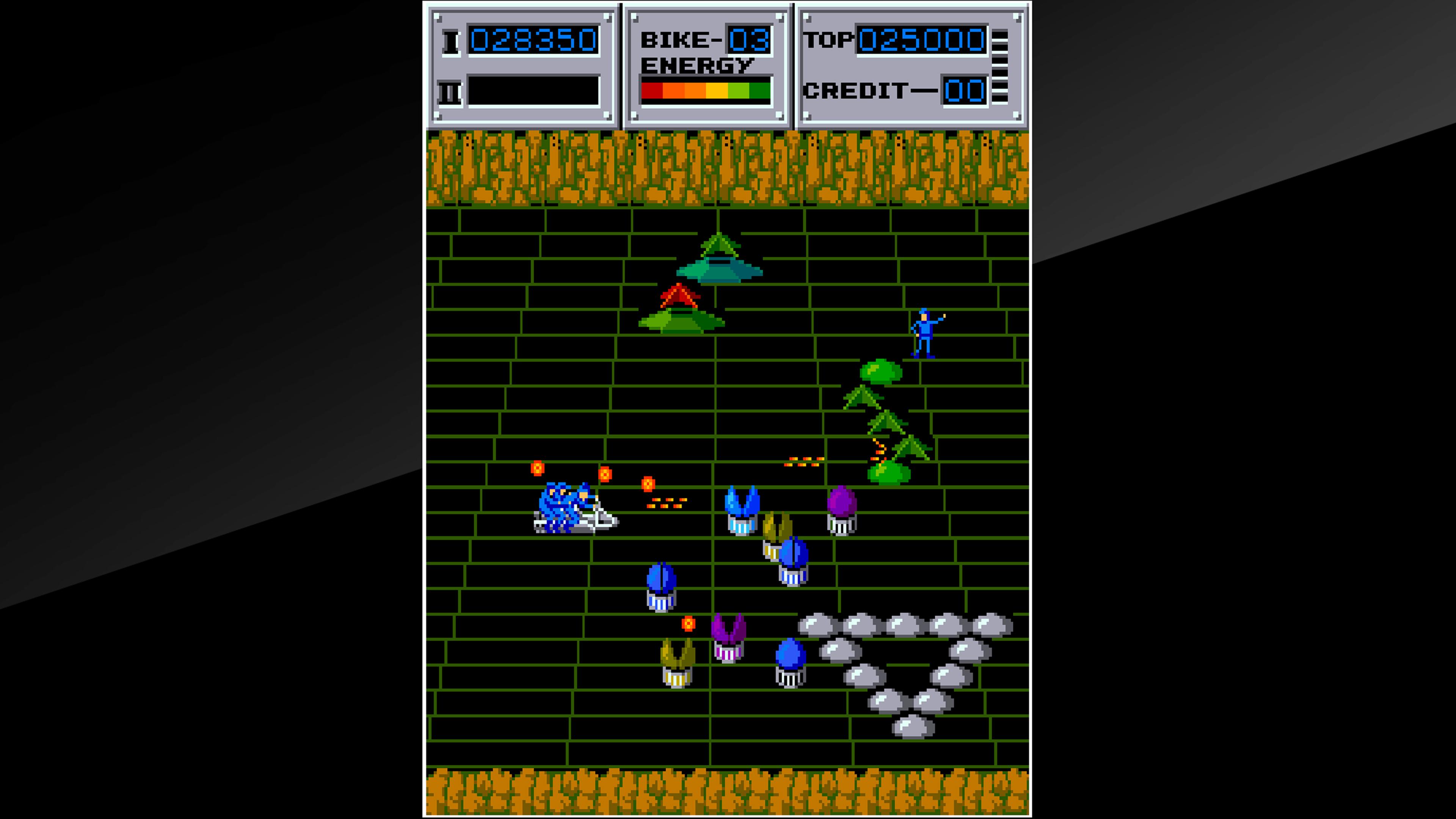 Скриншот №3 к Arcade Archives SEICROSS