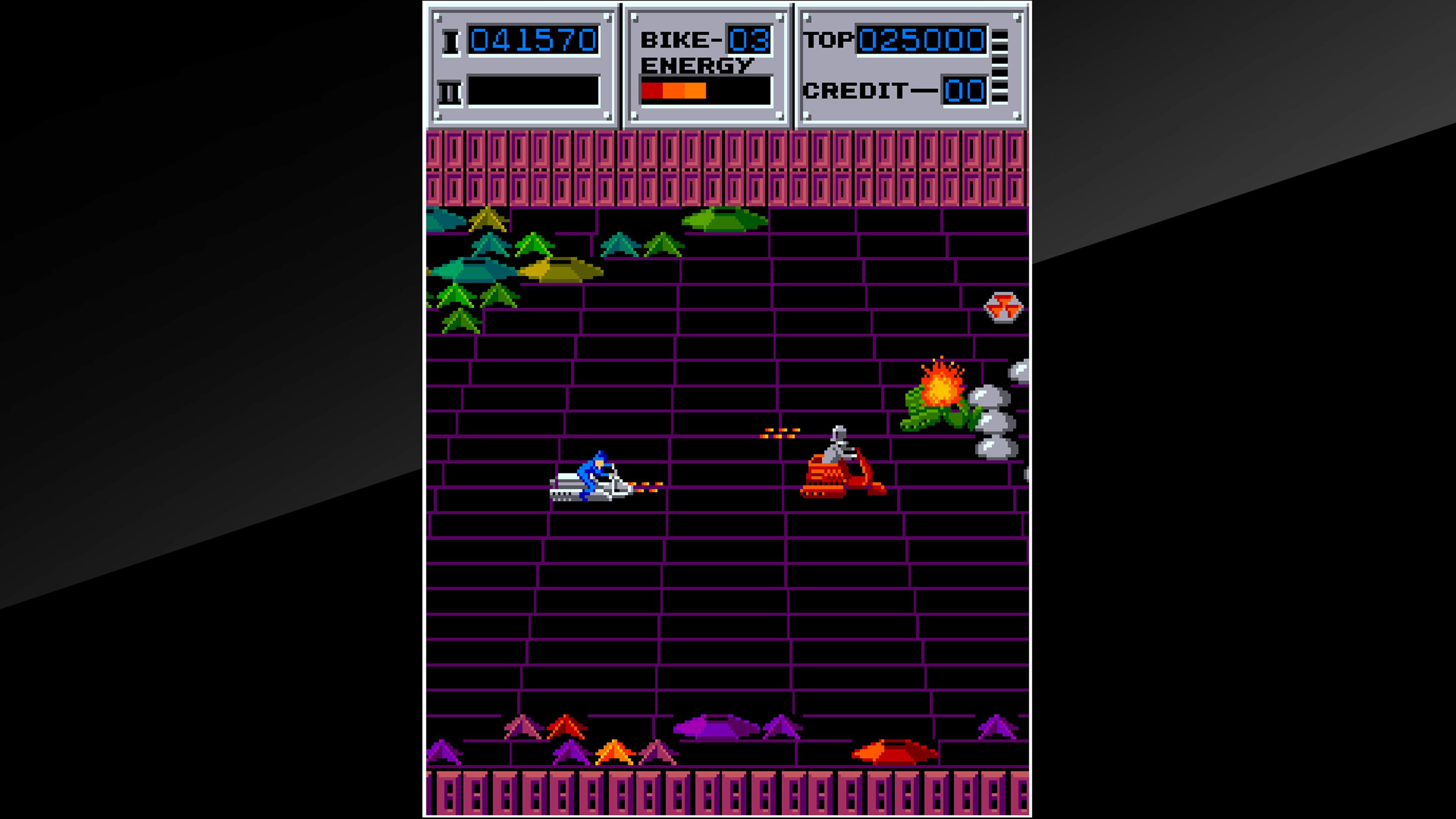 Скриншот №4 к Arcade Archives SEICROSS