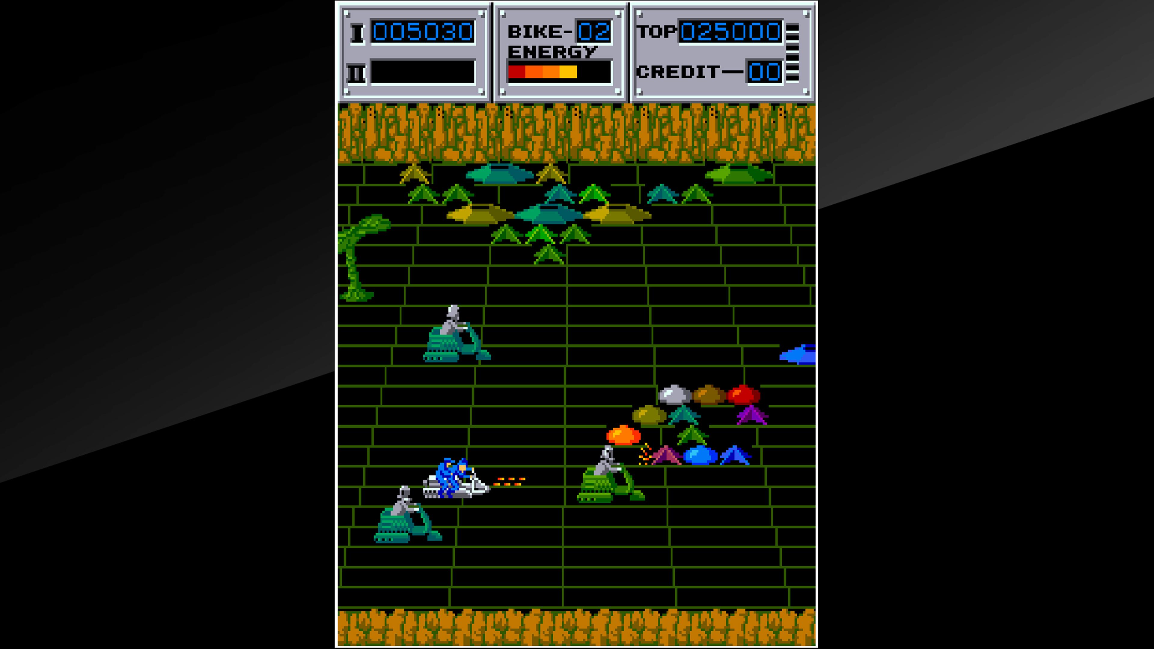 Скриншот №1 к Arcade Archives SEICROSS
