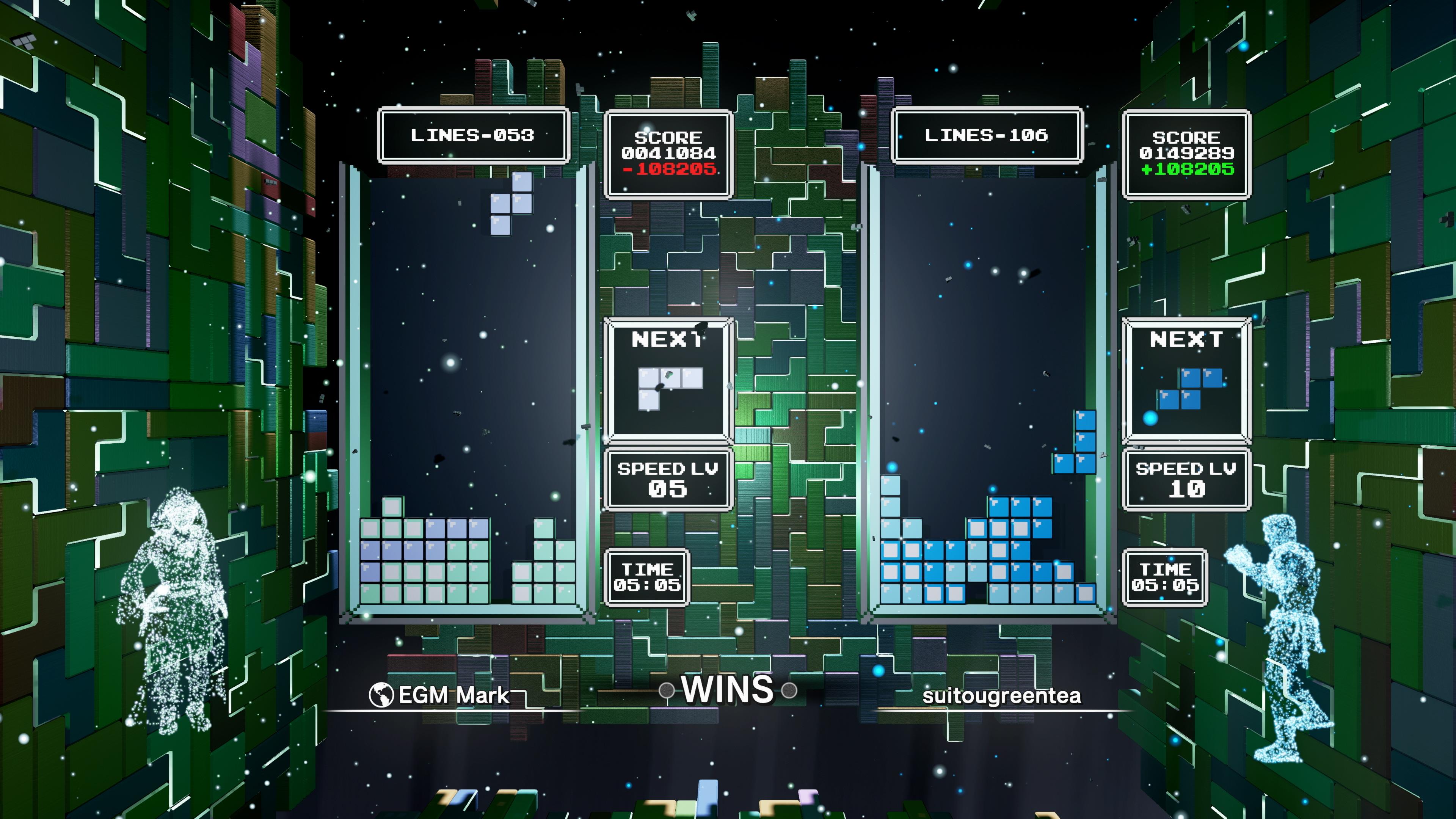 Скриншот №2 к Tetris Effect Connected