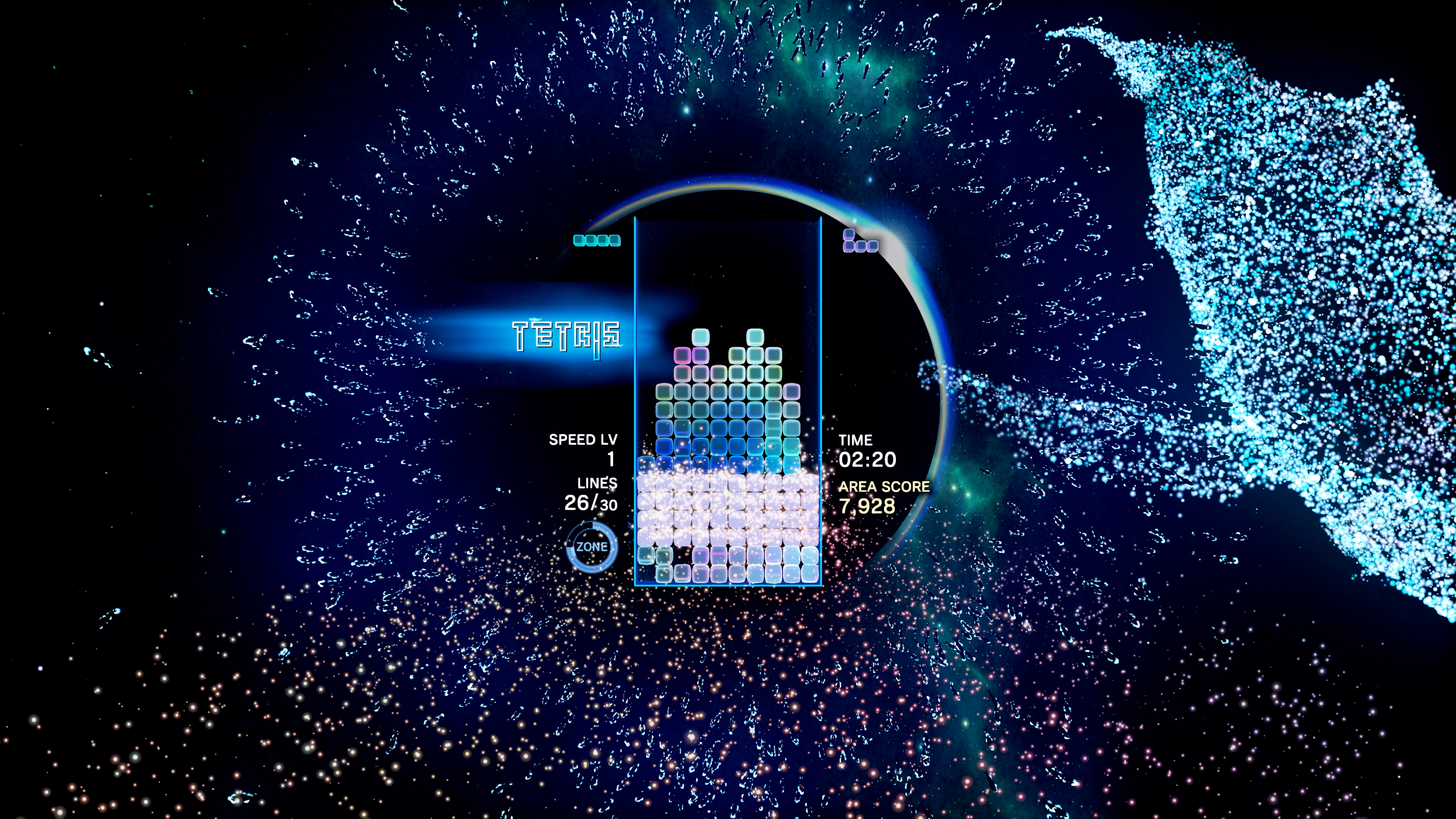 Скриншот №8 к Tetris Effect Connected
