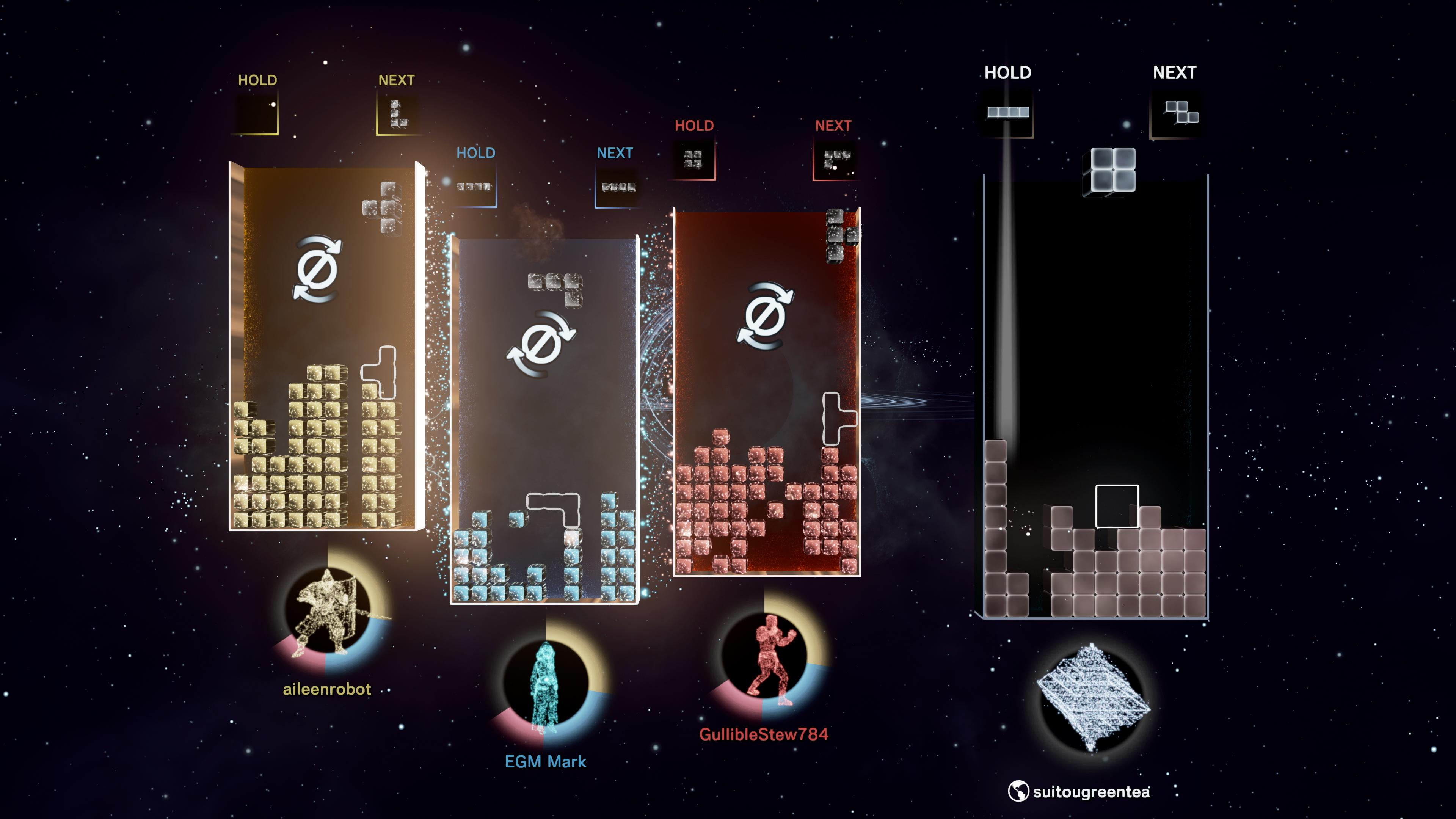 Скриншот №3 к Tetris Effect Connected