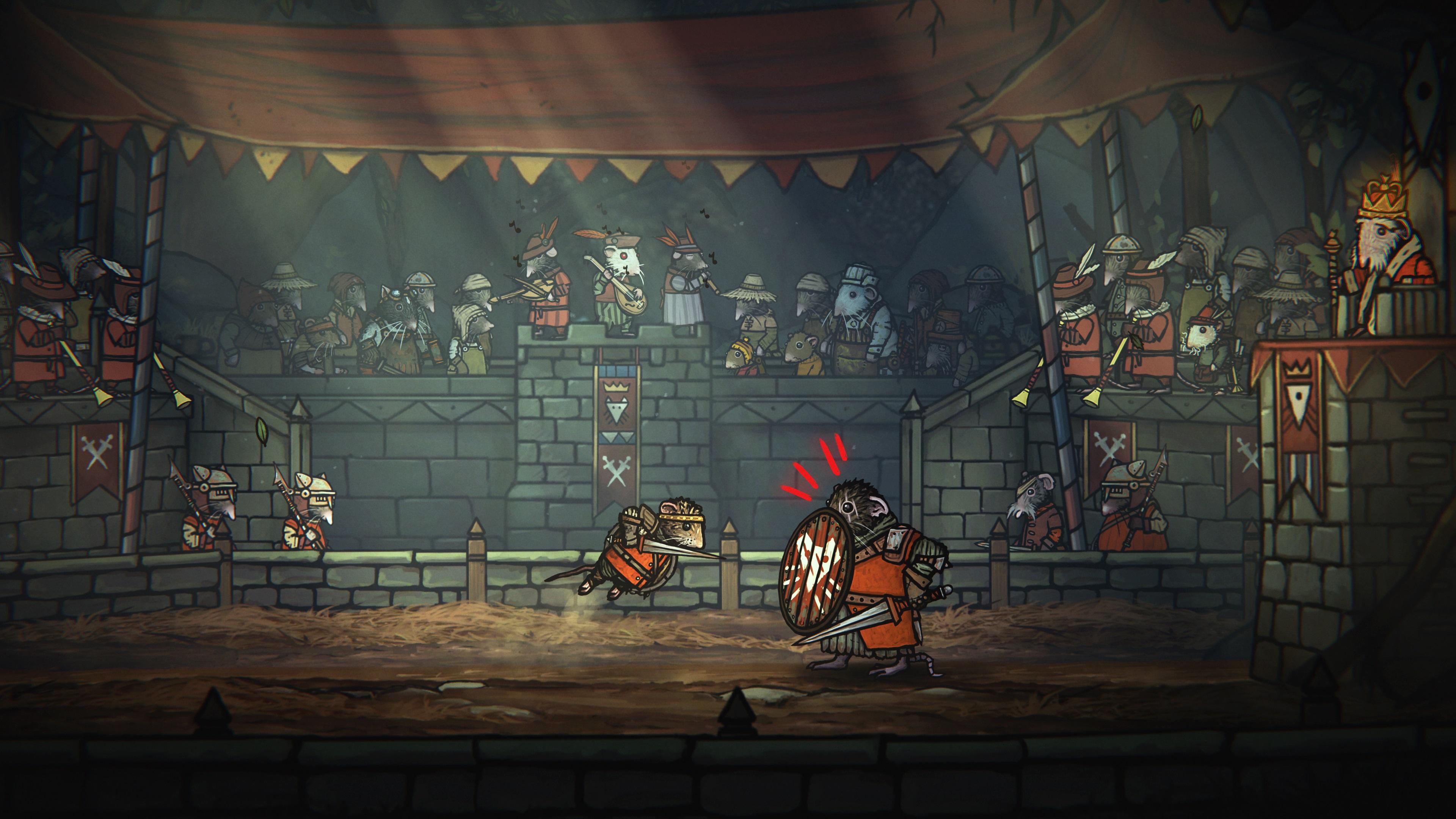 Скриншот №1 к Tails of Iron