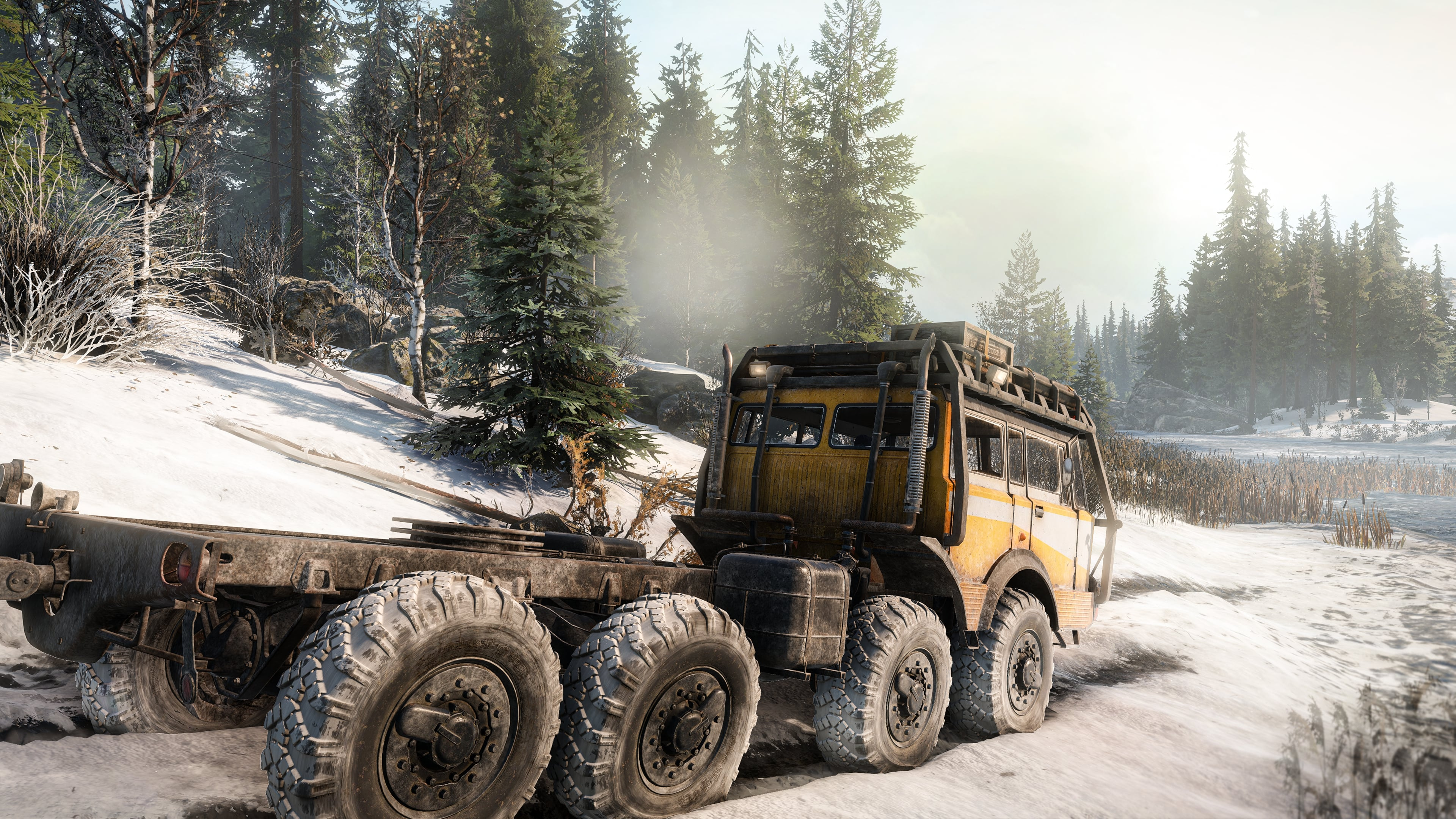 Скриншот №1 к SnowRunner - TATRA Dual Pack