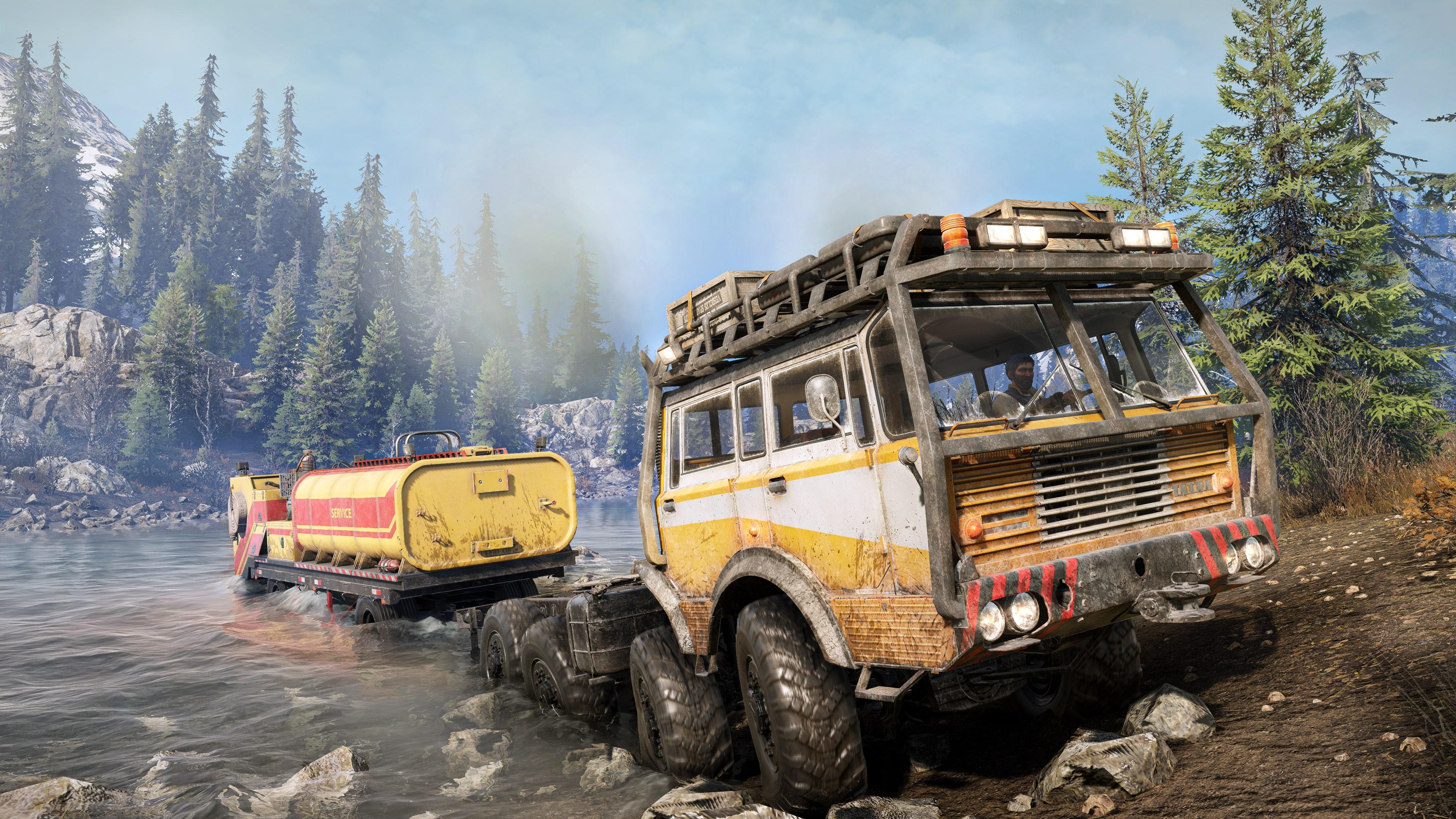 Скриншот №4 к SnowRunner - TATRA Dual Pack