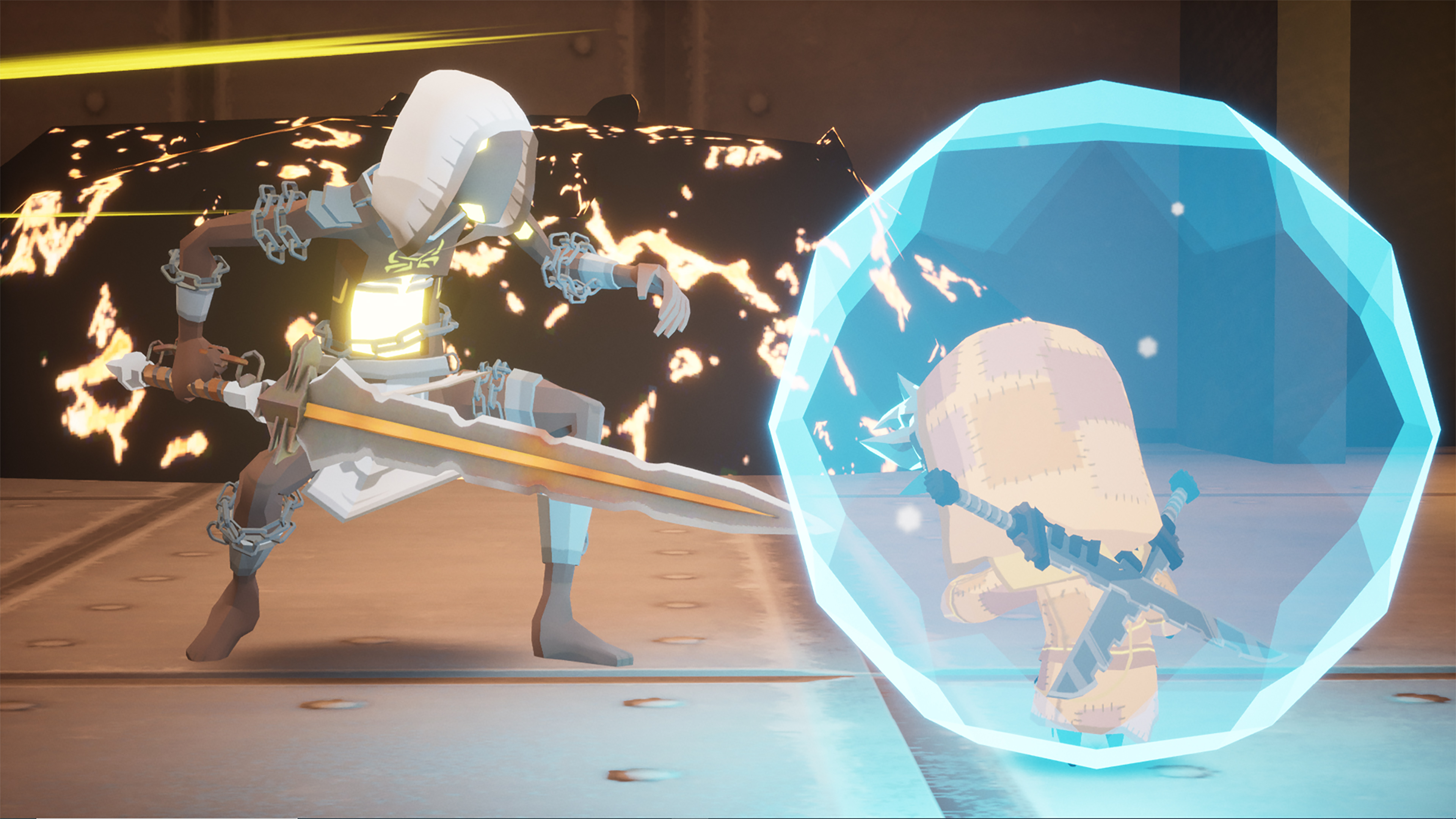 Скриншот №9 к Blue Fire