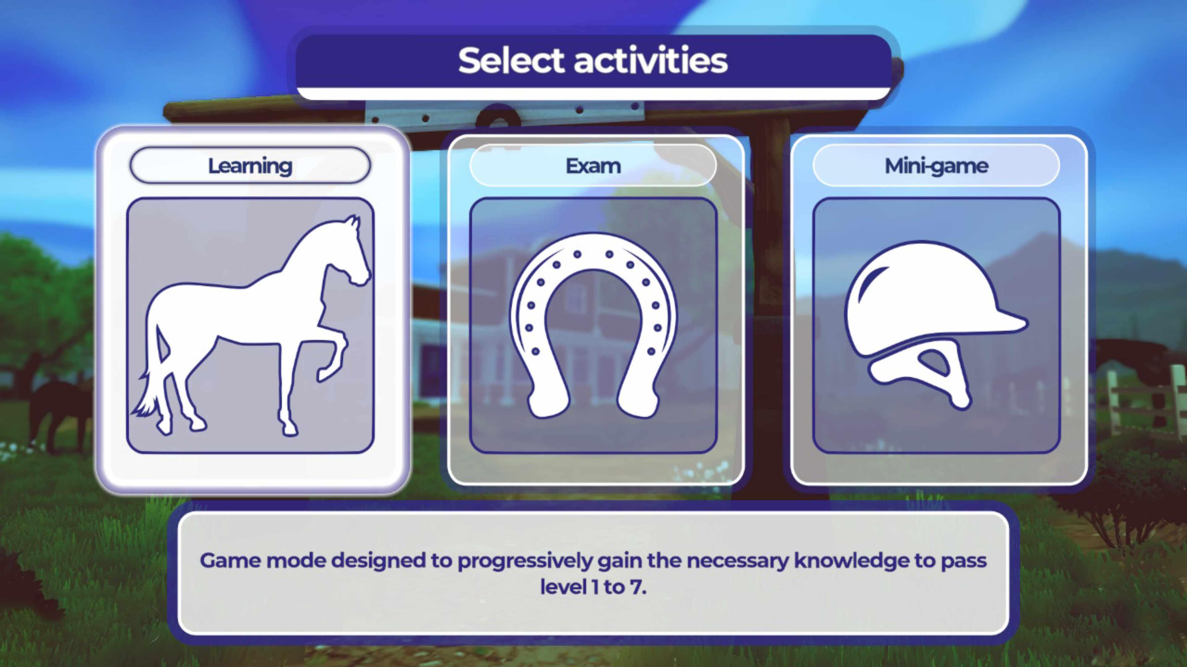 Скриншот №1 к Equestrian Training Обучение верховой езде