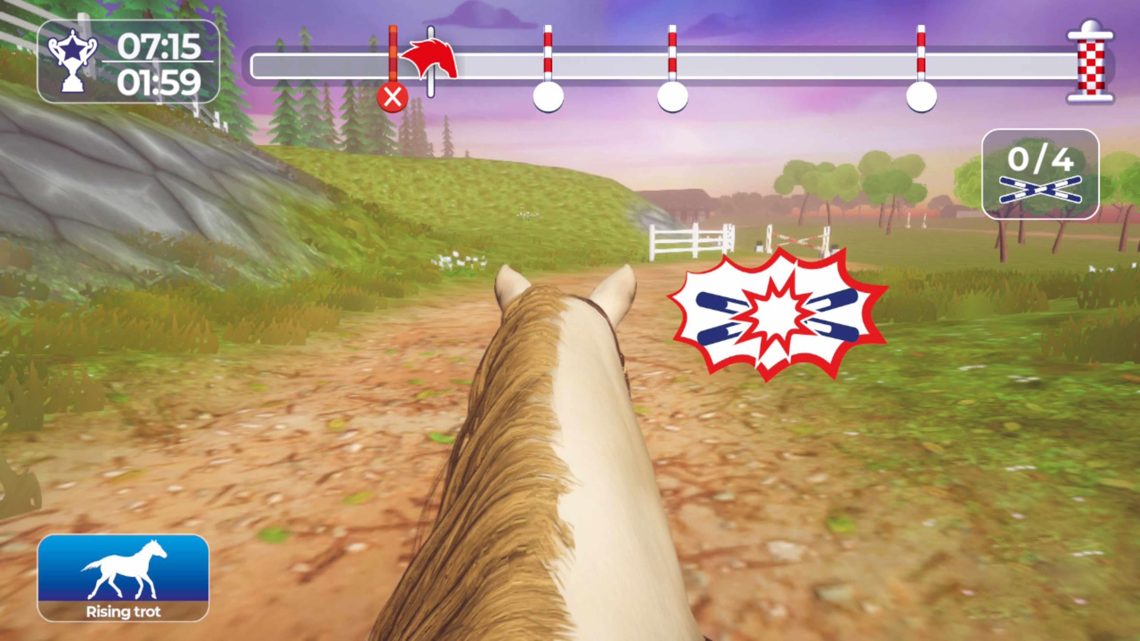 Скриншот №3 к Equestrian Training Обучение верховой езде