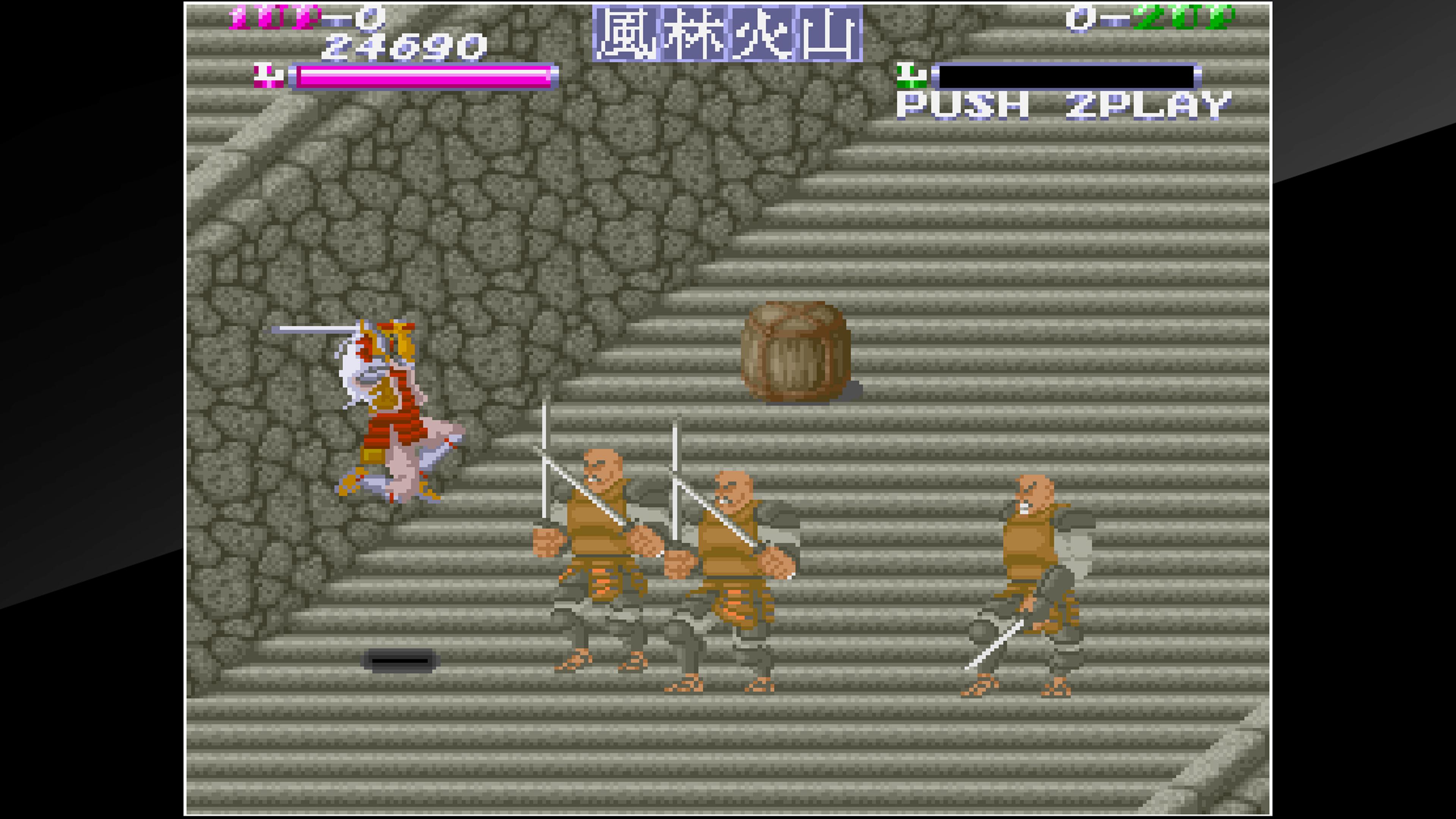 Скриншот №1 к Arcade Archives SHINGEN SAMURAI-FIGHTER