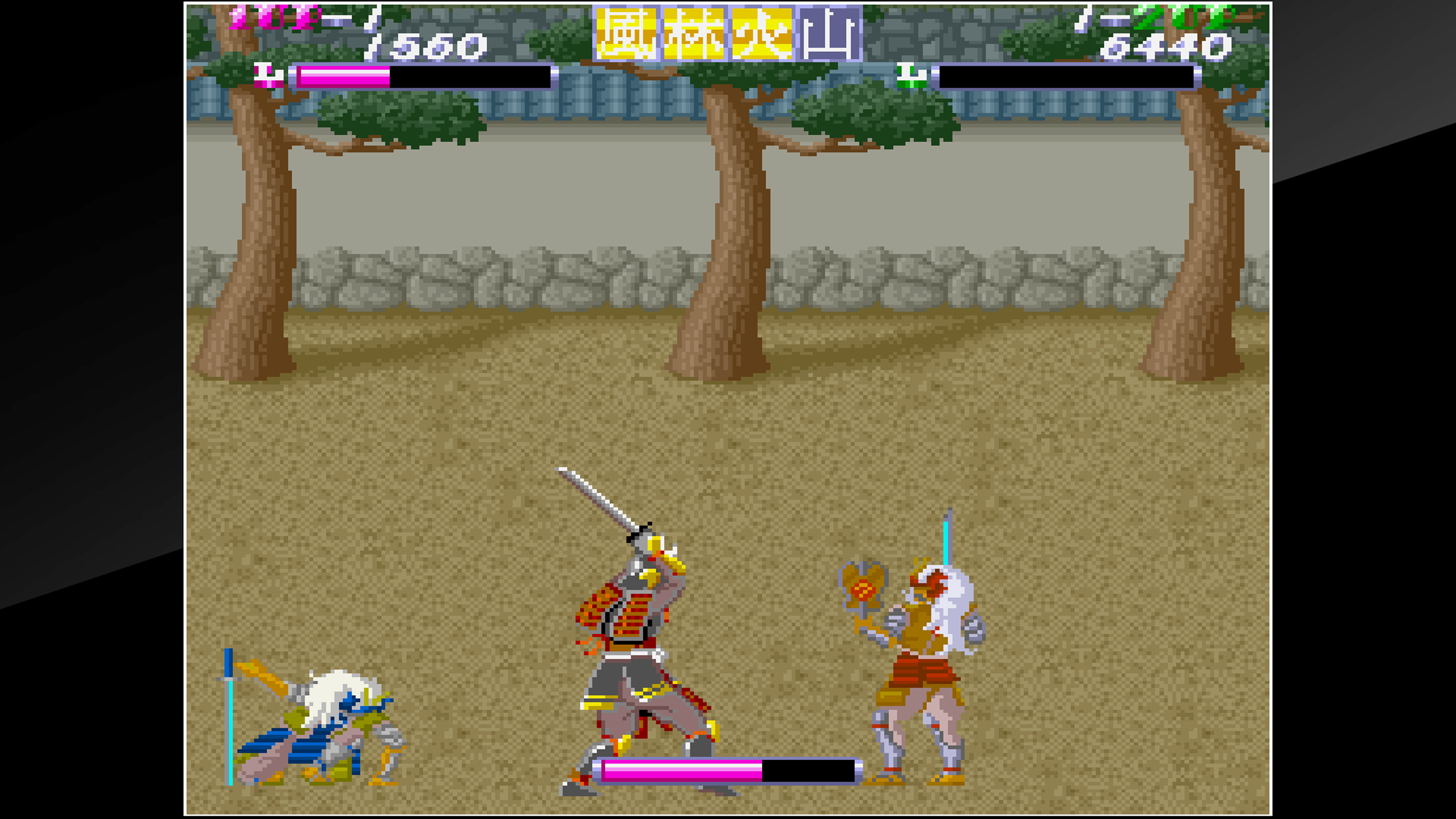Скриншот №8 к Arcade Archives SHINGEN SAMURAI-FIGHTER
