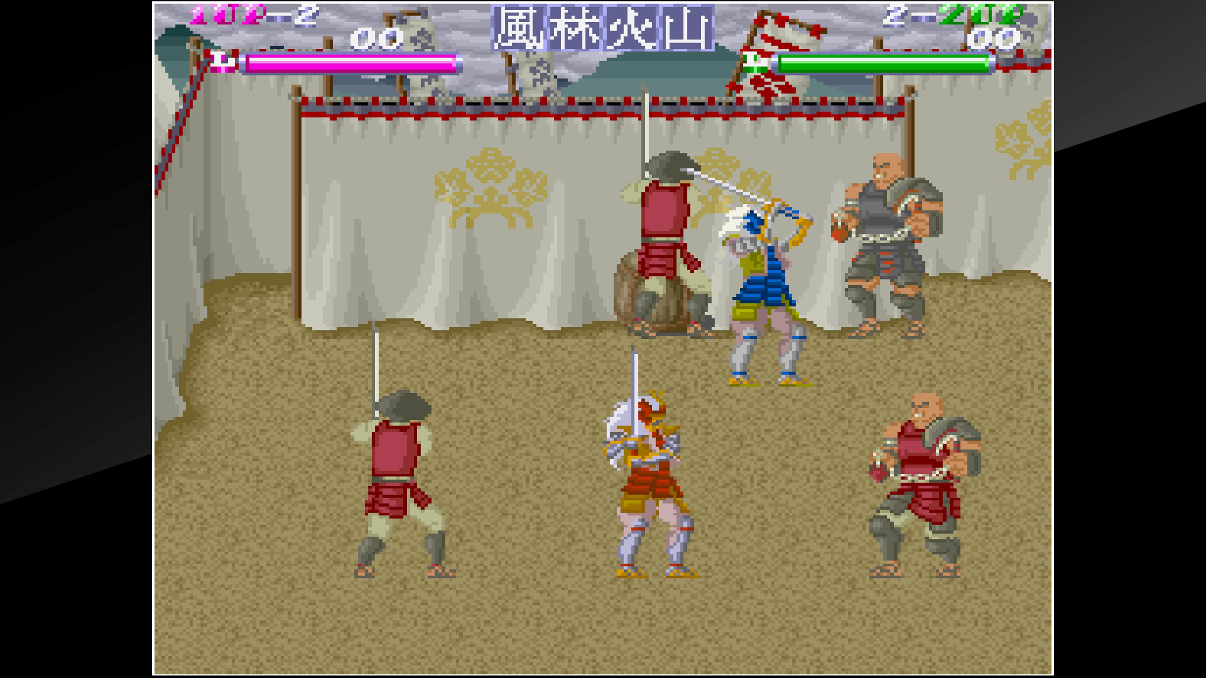 Скриншот №6 к Arcade Archives SHINGEN SAMURAI-FIGHTER