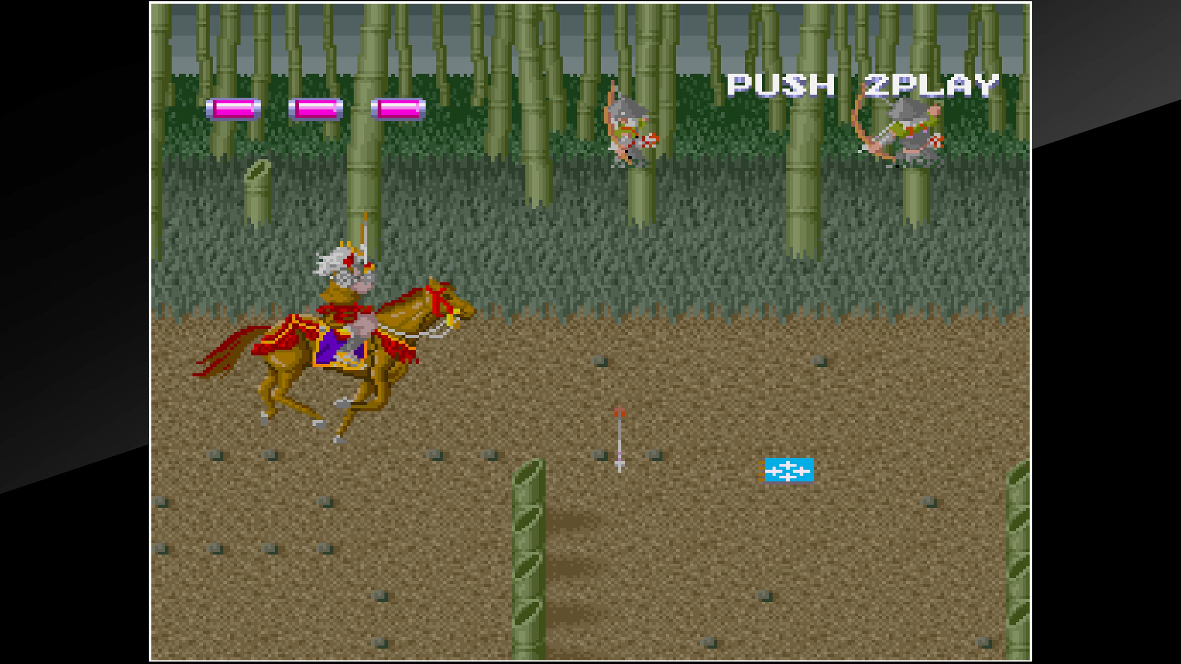 Скриншот №4 к Arcade Archives SHINGEN SAMURAI-FIGHTER