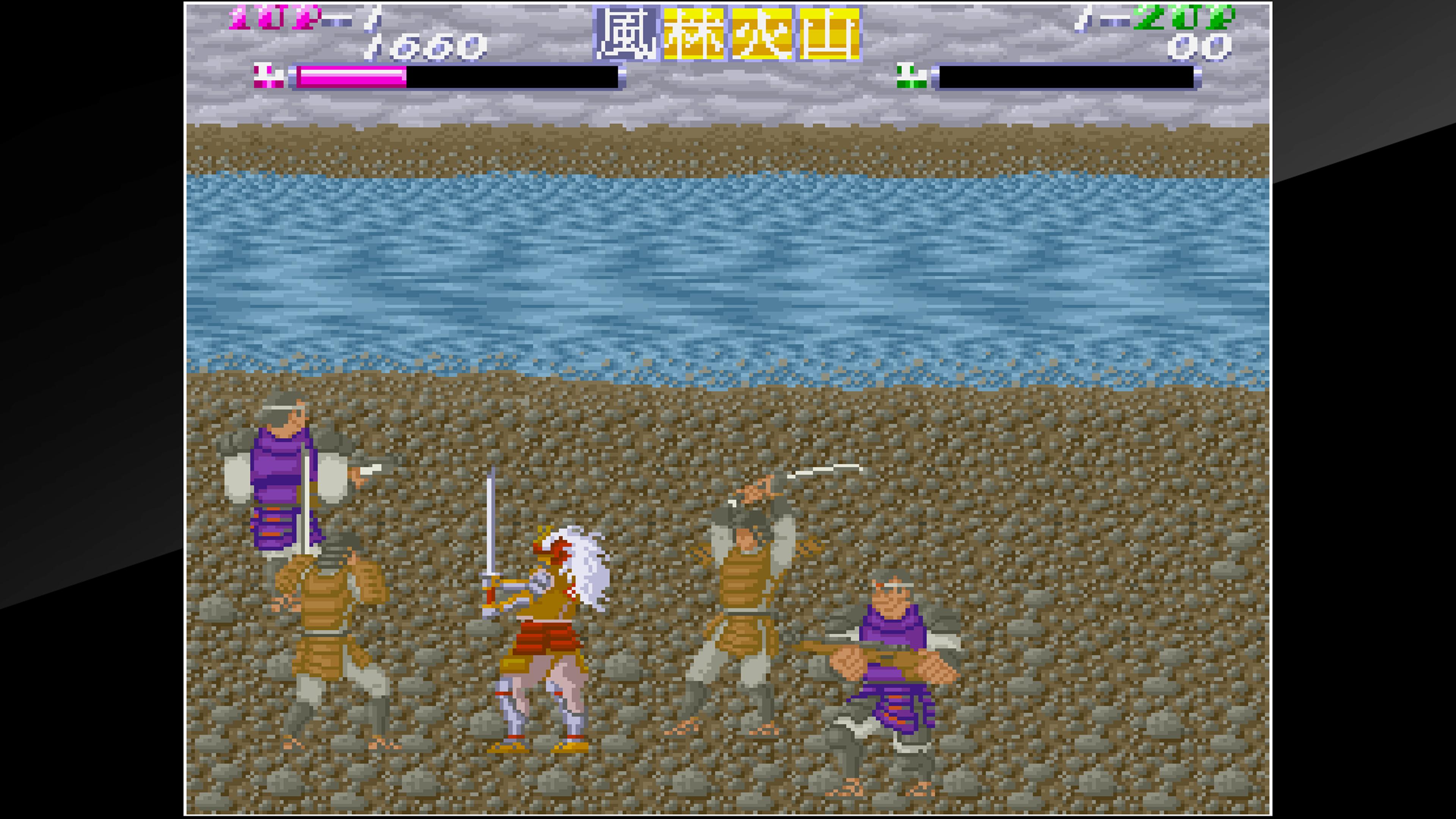 Скриншот №3 к Arcade Archives SHINGEN SAMURAI-FIGHTER