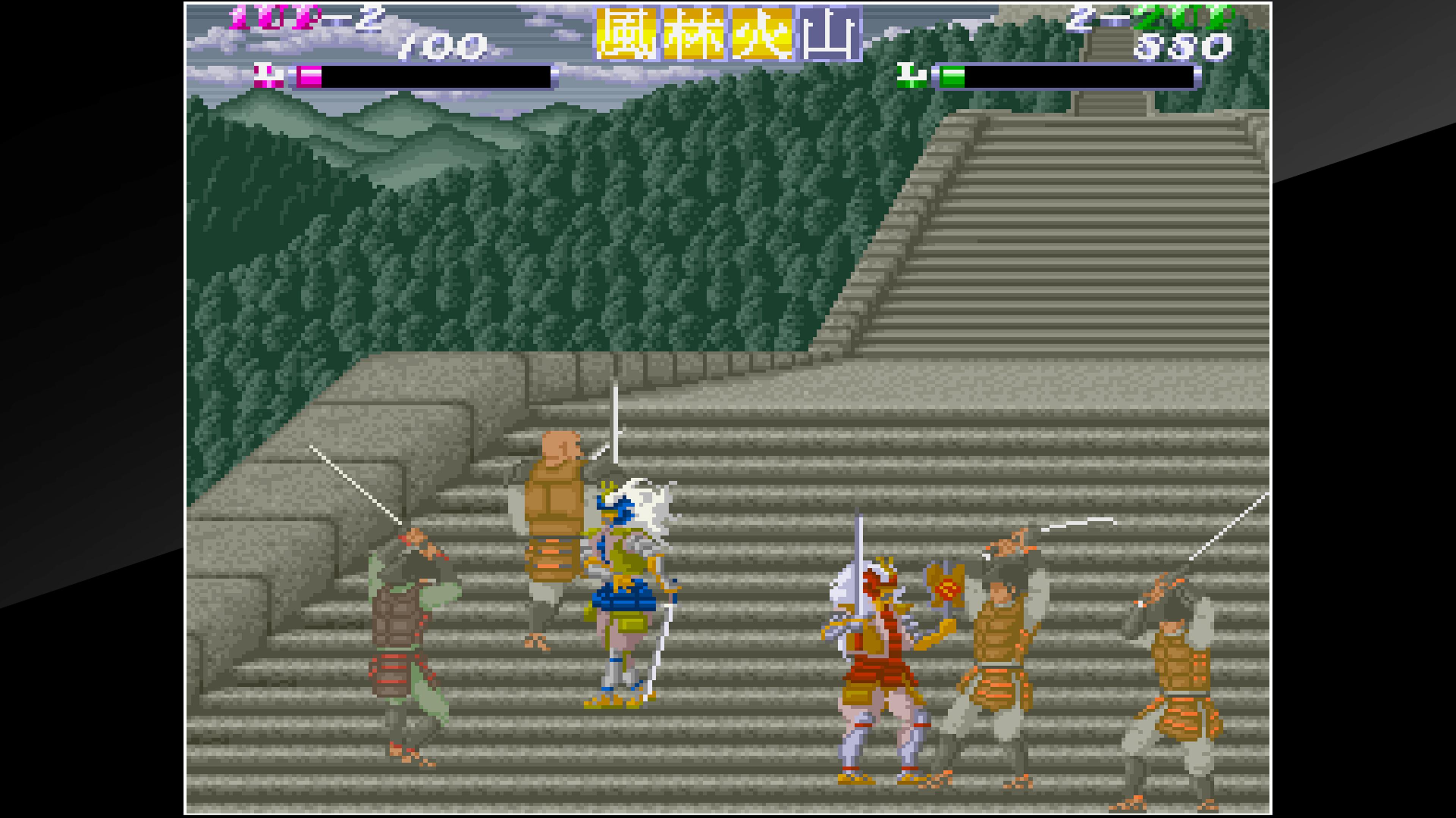 Скриншот №9 к Arcade Archives SHINGEN SAMURAI-FIGHTER