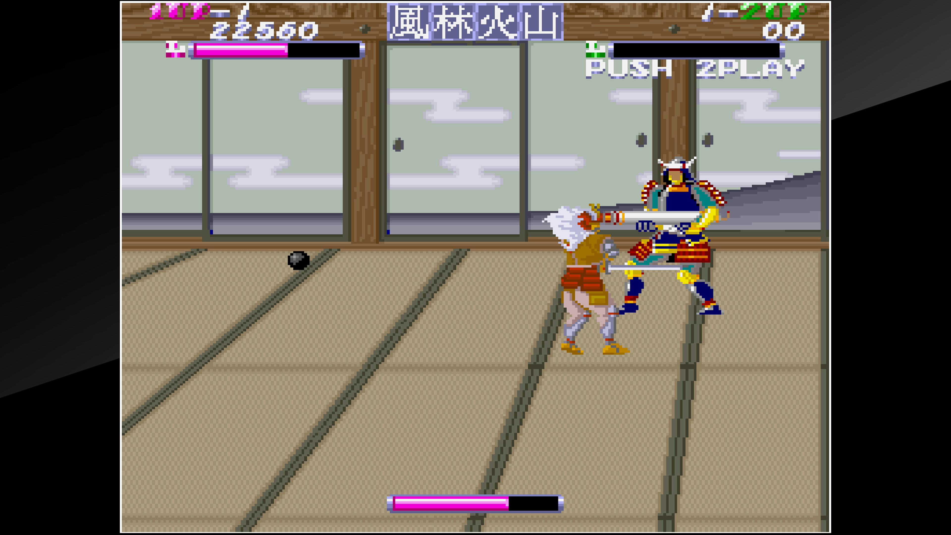 Скриншот №5 к Arcade Archives SHINGEN SAMURAI-FIGHTER