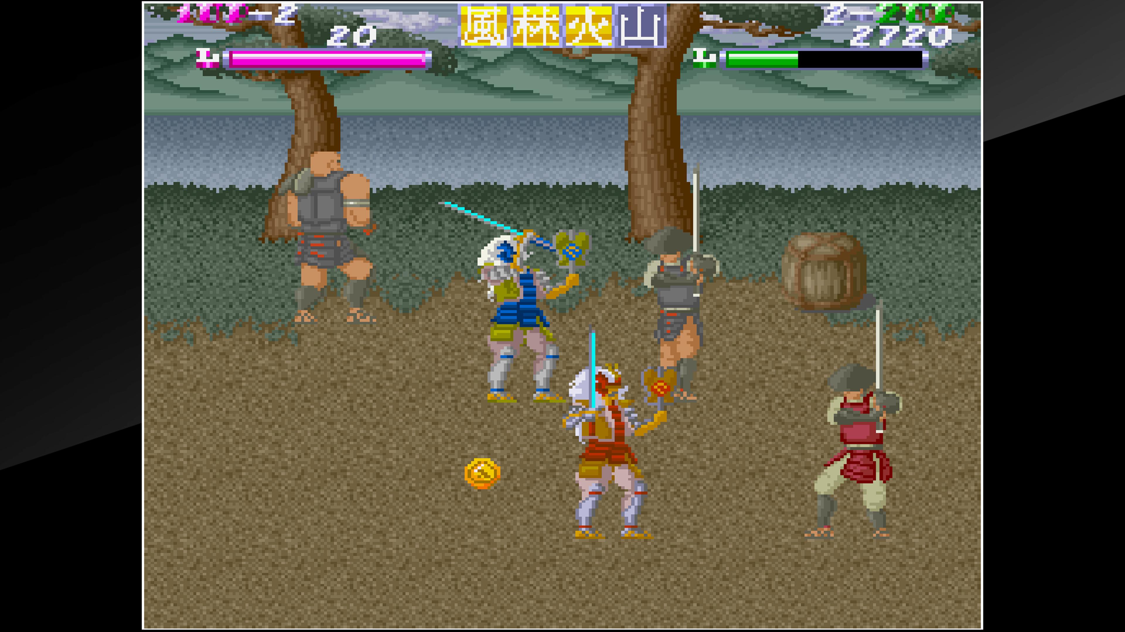 Скриншот №7 к Arcade Archives SHINGEN SAMURAI-FIGHTER