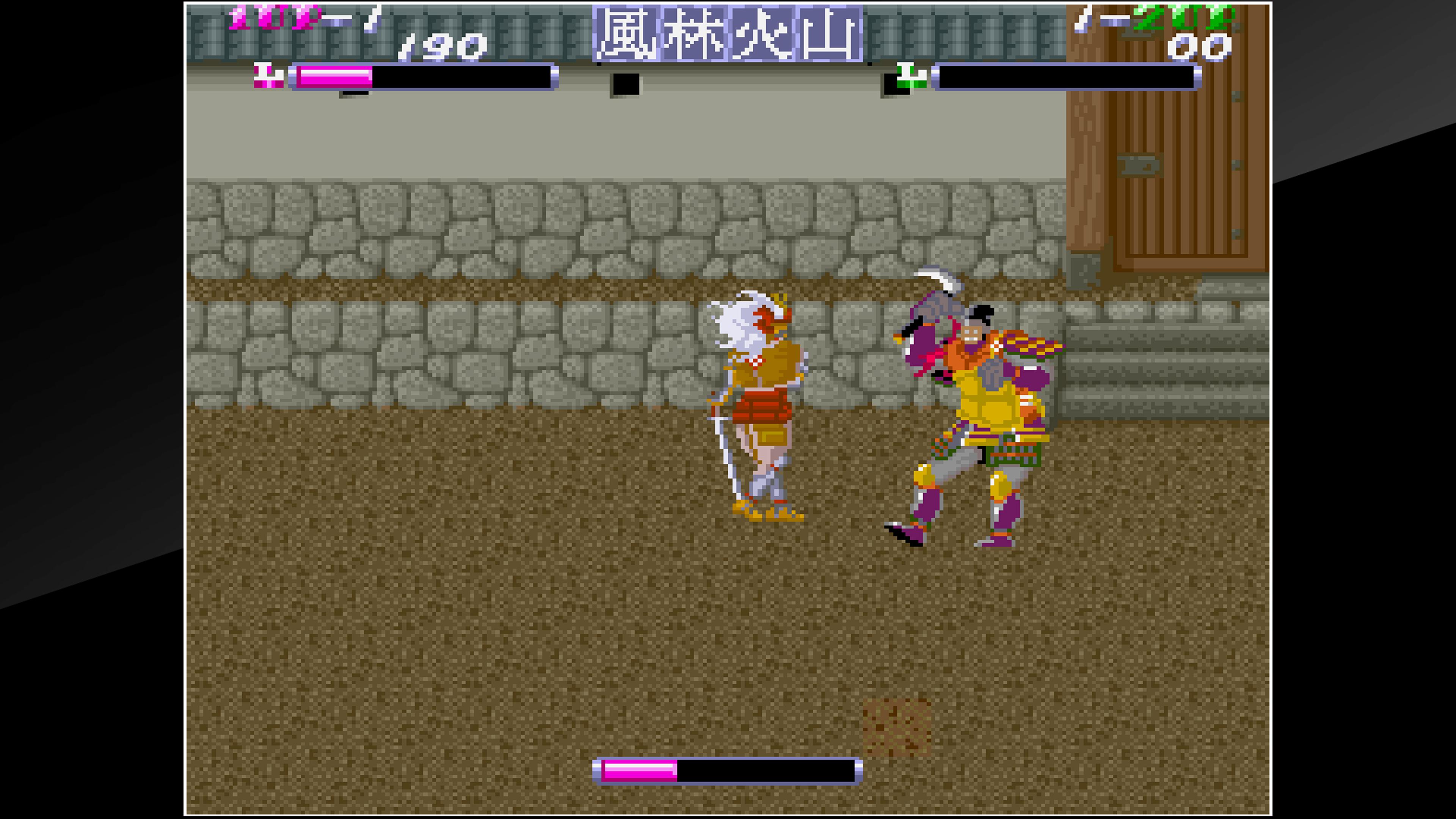 Скриншот №2 к Arcade Archives SHINGEN SAMURAI-FIGHTER