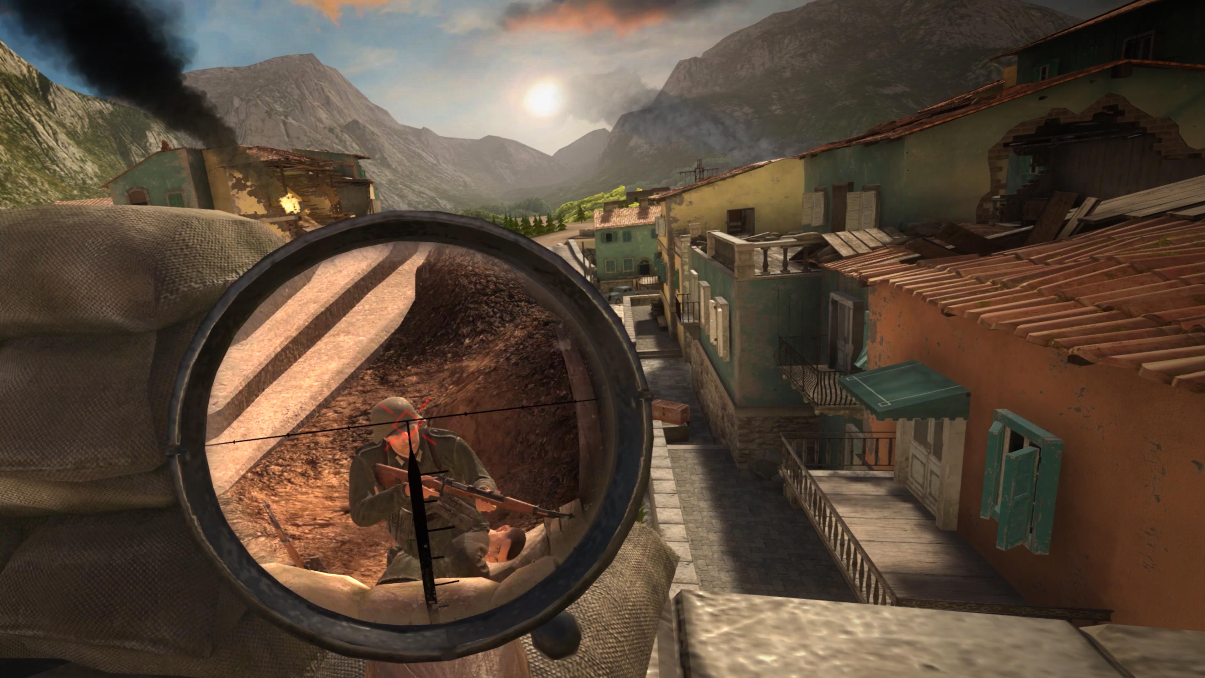 Скриншот №5 к Sniper Elite VR